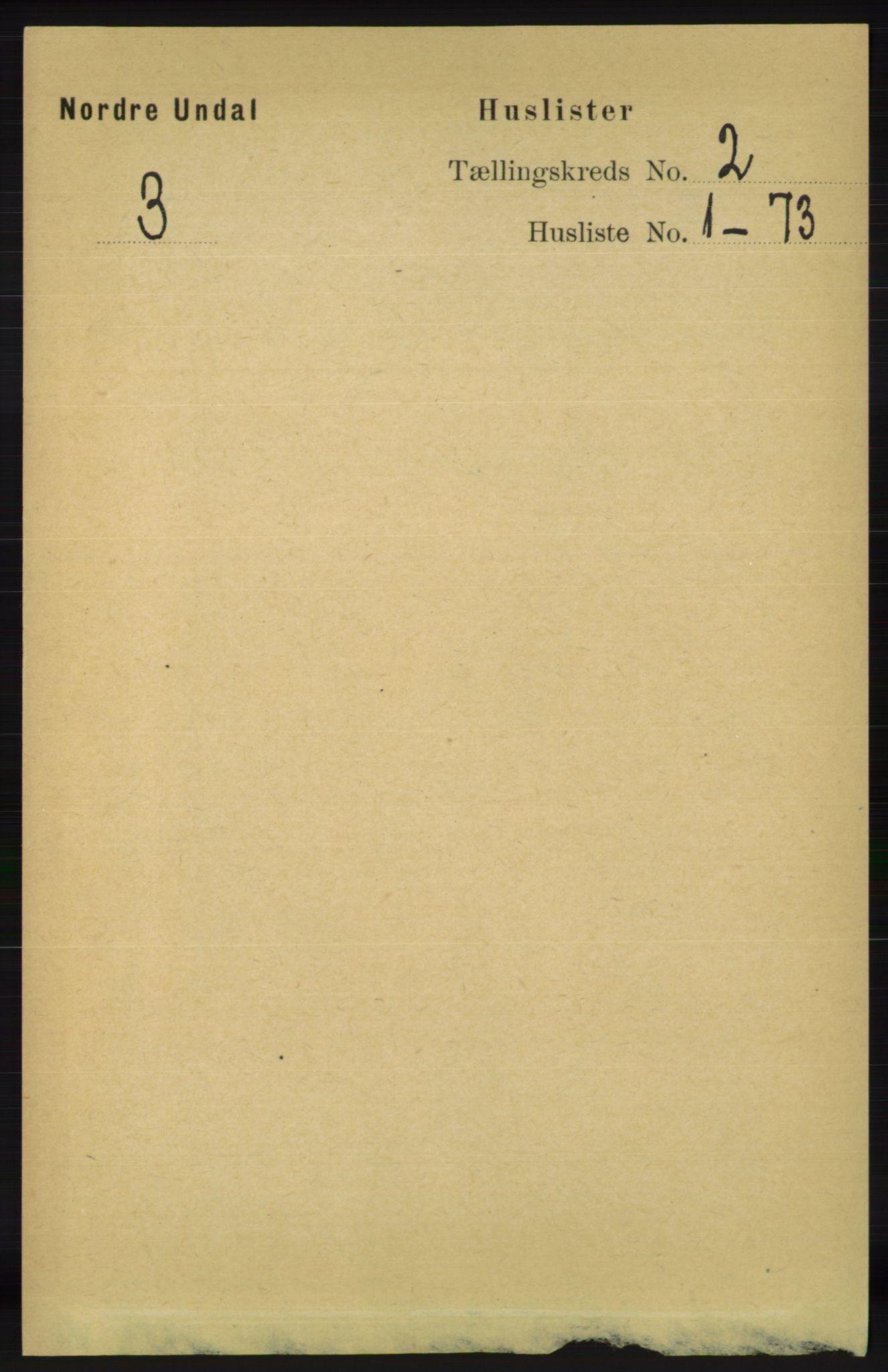 RA, Folketelling 1891 for 1028 Nord-Audnedal herred, 1891, s. 279
