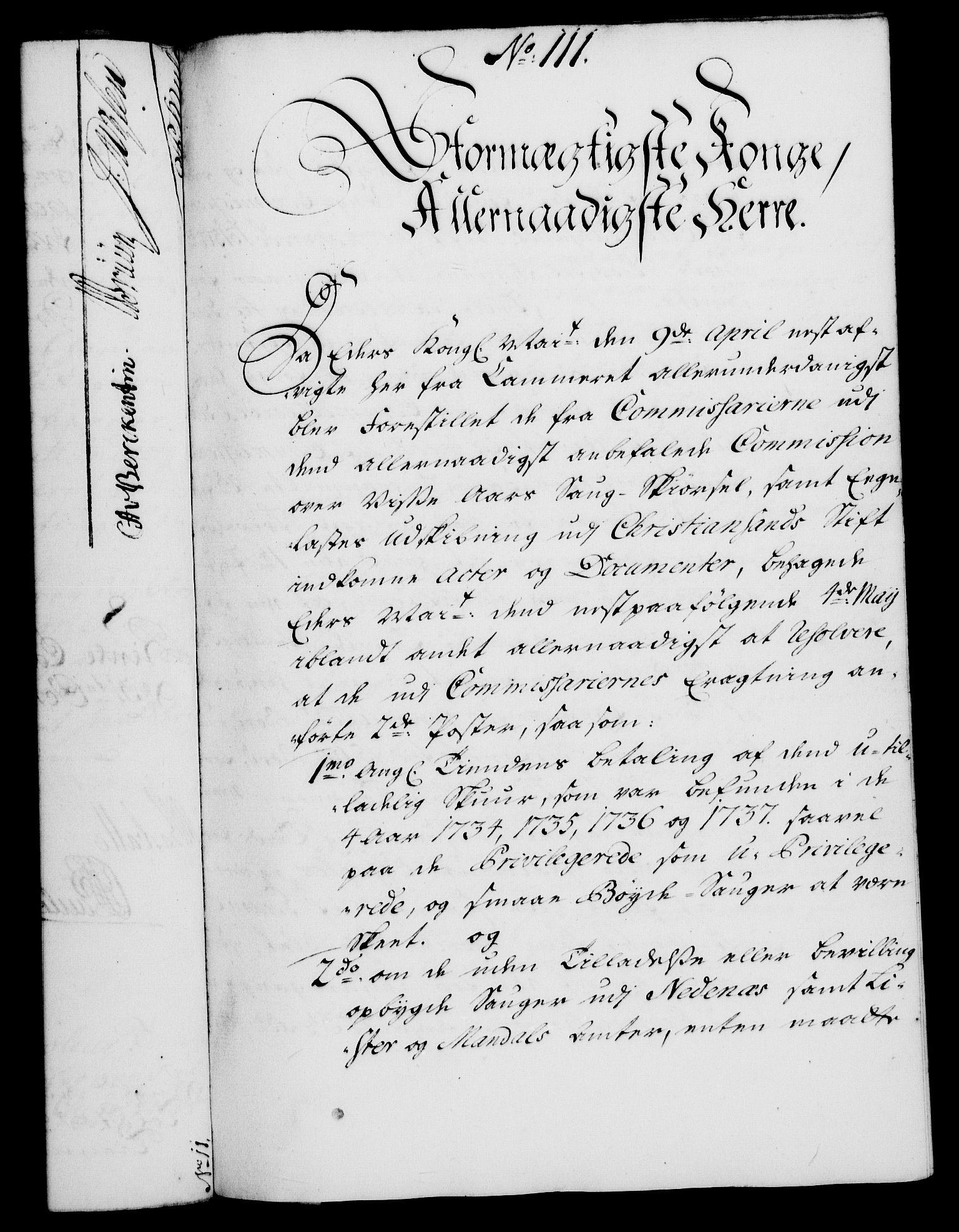 RA, Rentekammeret, Kammerkanselliet, G/Gf/Gfa/L0023: Norsk relasjons- og resolusjonsprotokoll (merket RK 52.23), 1740, s. 747
