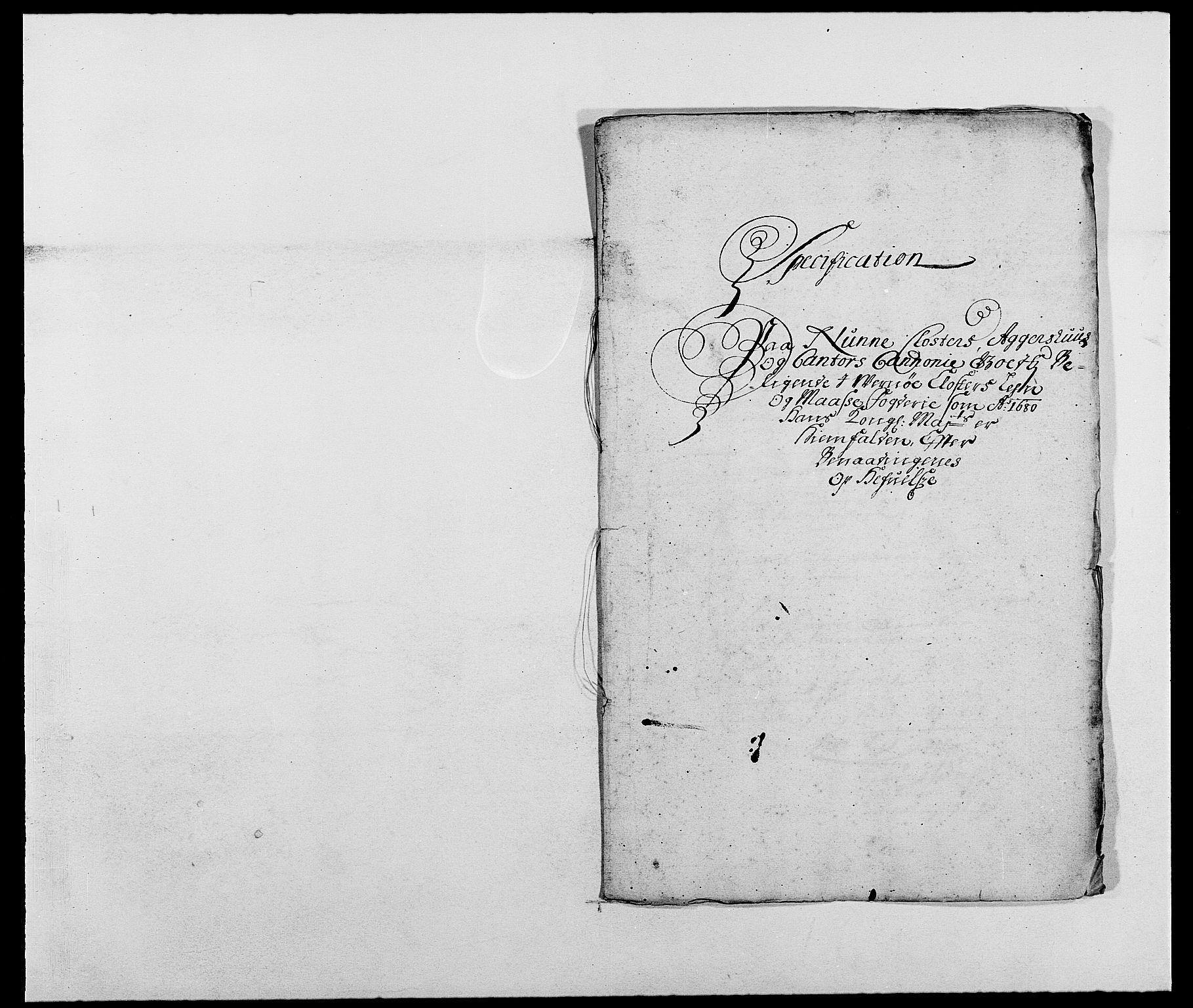 RA, Rentekammeret inntil 1814, Reviderte regnskaper, Fogderegnskap, R02/L0101: Fogderegnskap Moss og Verne kloster, 1680, s. 238