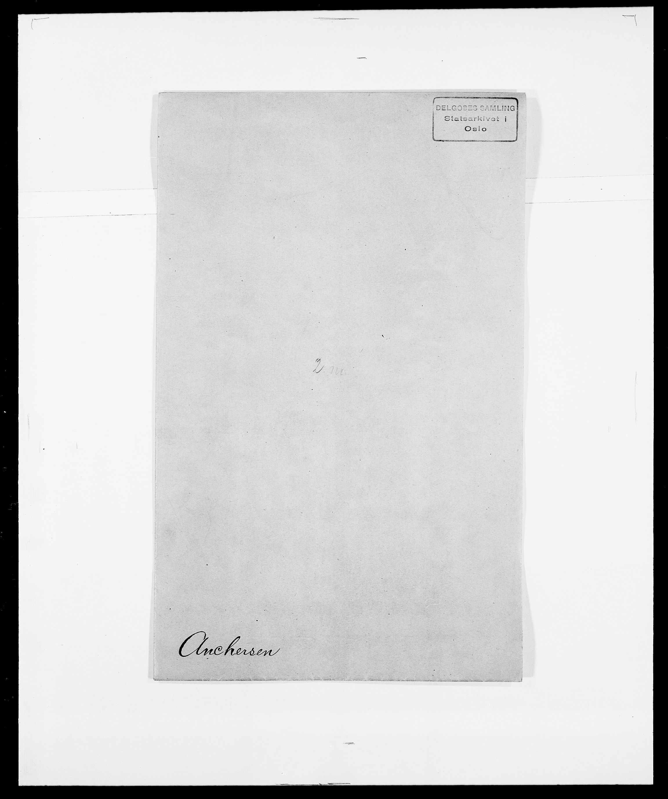 SAO, Delgobe, Charles Antoine - samling, D/Da/L0002: Anker, Ancher - Bauner, s. 17