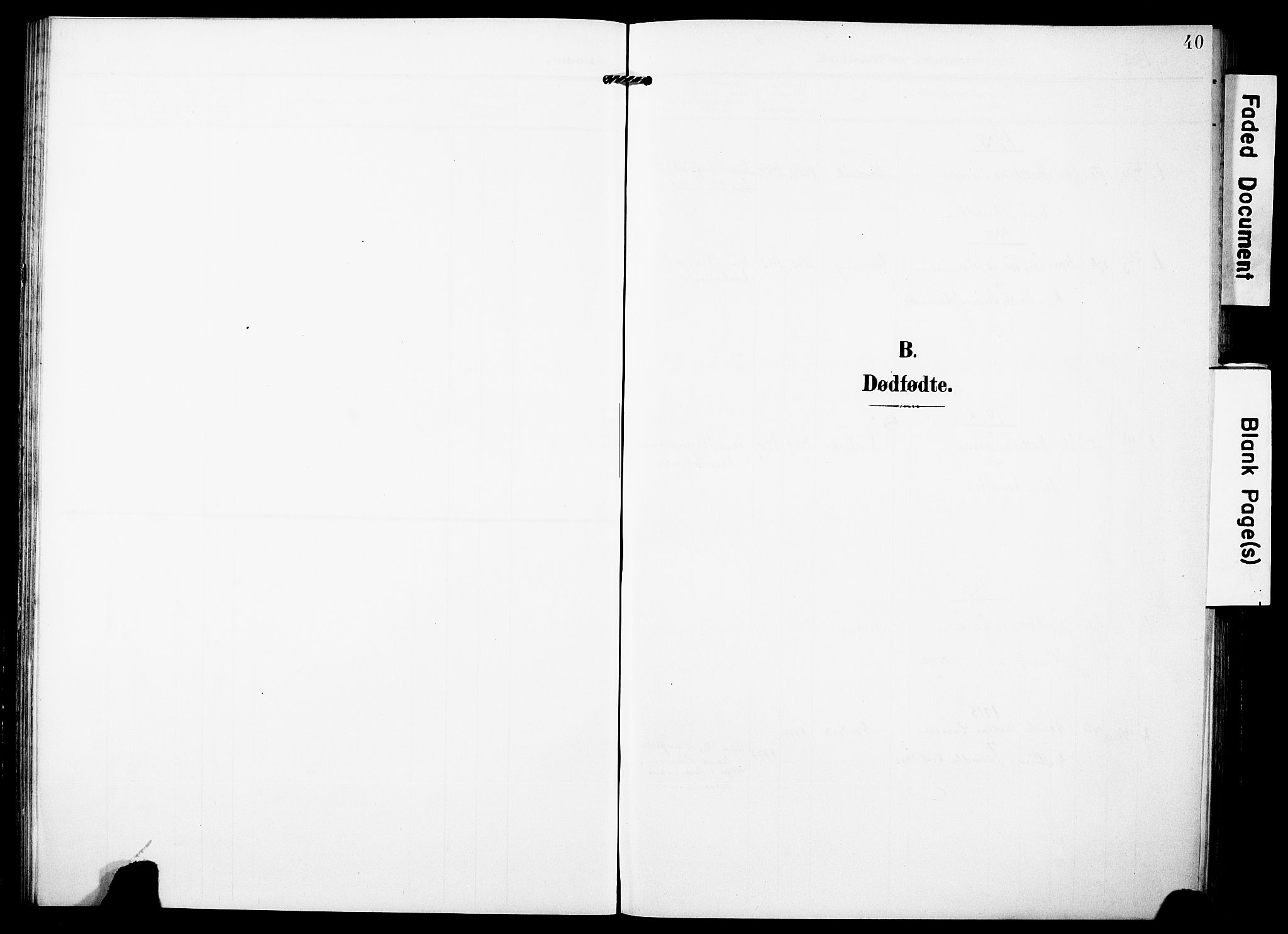 SAST, Torvastad sokneprestkontor, H/Ha/Haa/L0018: Ministerialbok nr. A 17, 1903-1925, s. 40