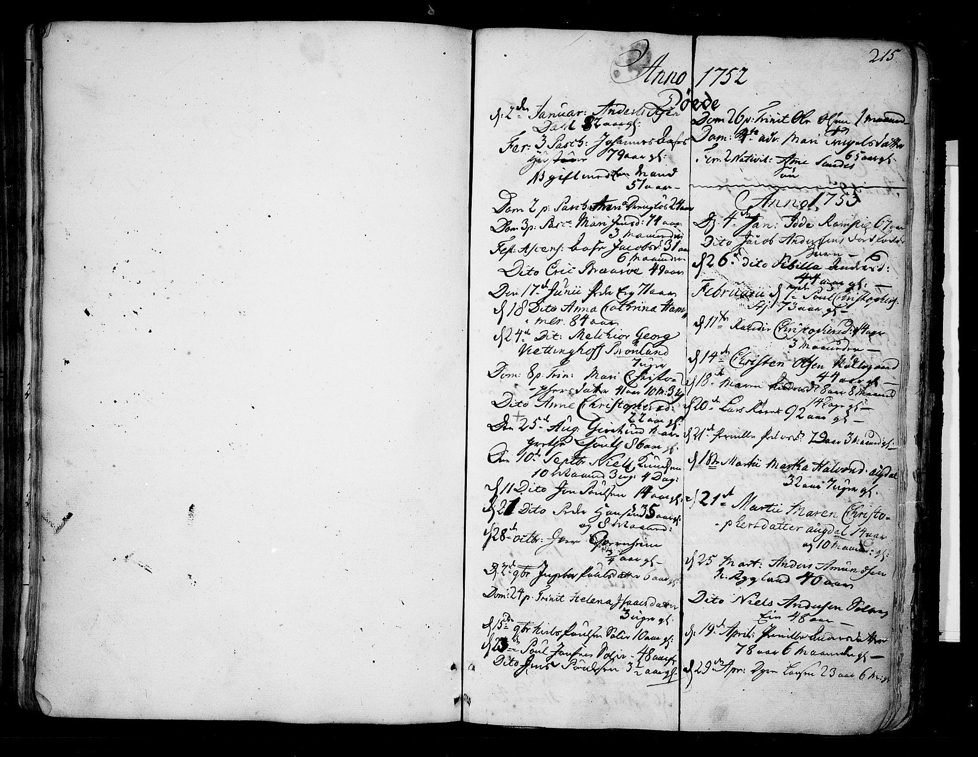 SAKO, Borre kirkebøker, F/Fa/L0002: Ministerialbok nr. I 2, 1752-1806, s. 215