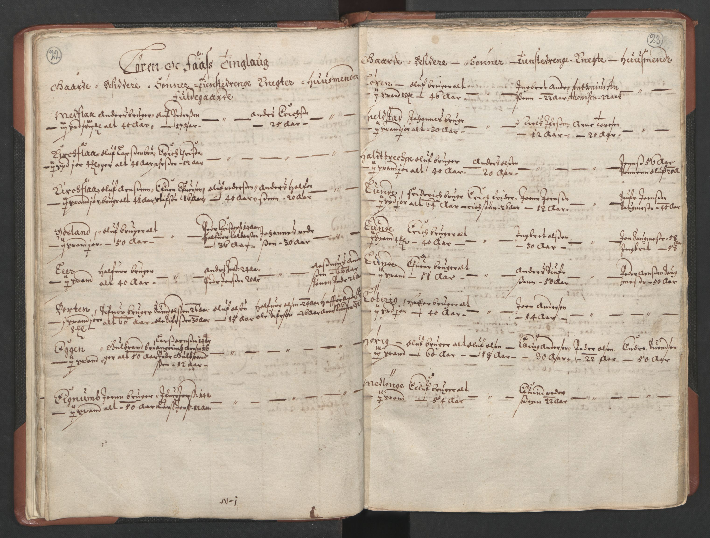 RA, Fogdenes og sorenskrivernes manntall 1664-1666, nr. 18: Gauldal fogderi, Strinda fogderi og Orkdal fogderi, 1664, s. 22-23