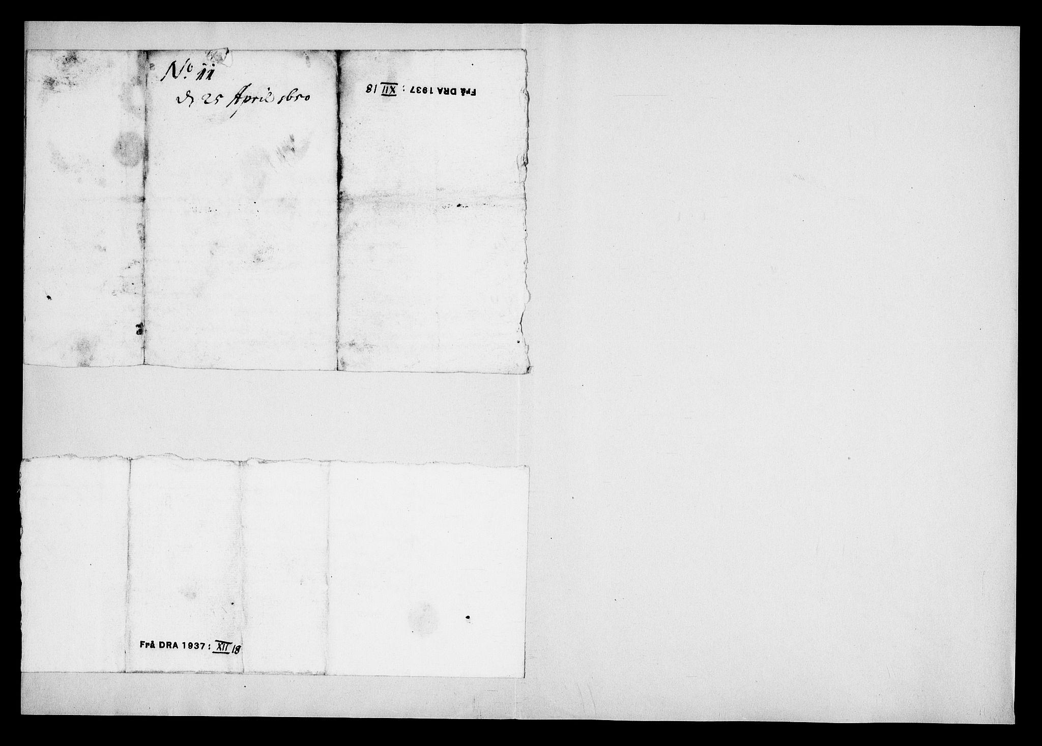 RA, Danske Kanselli, Skapsaker, G/L0019: Tillegg til skapsakene, 1616-1753, s. 140