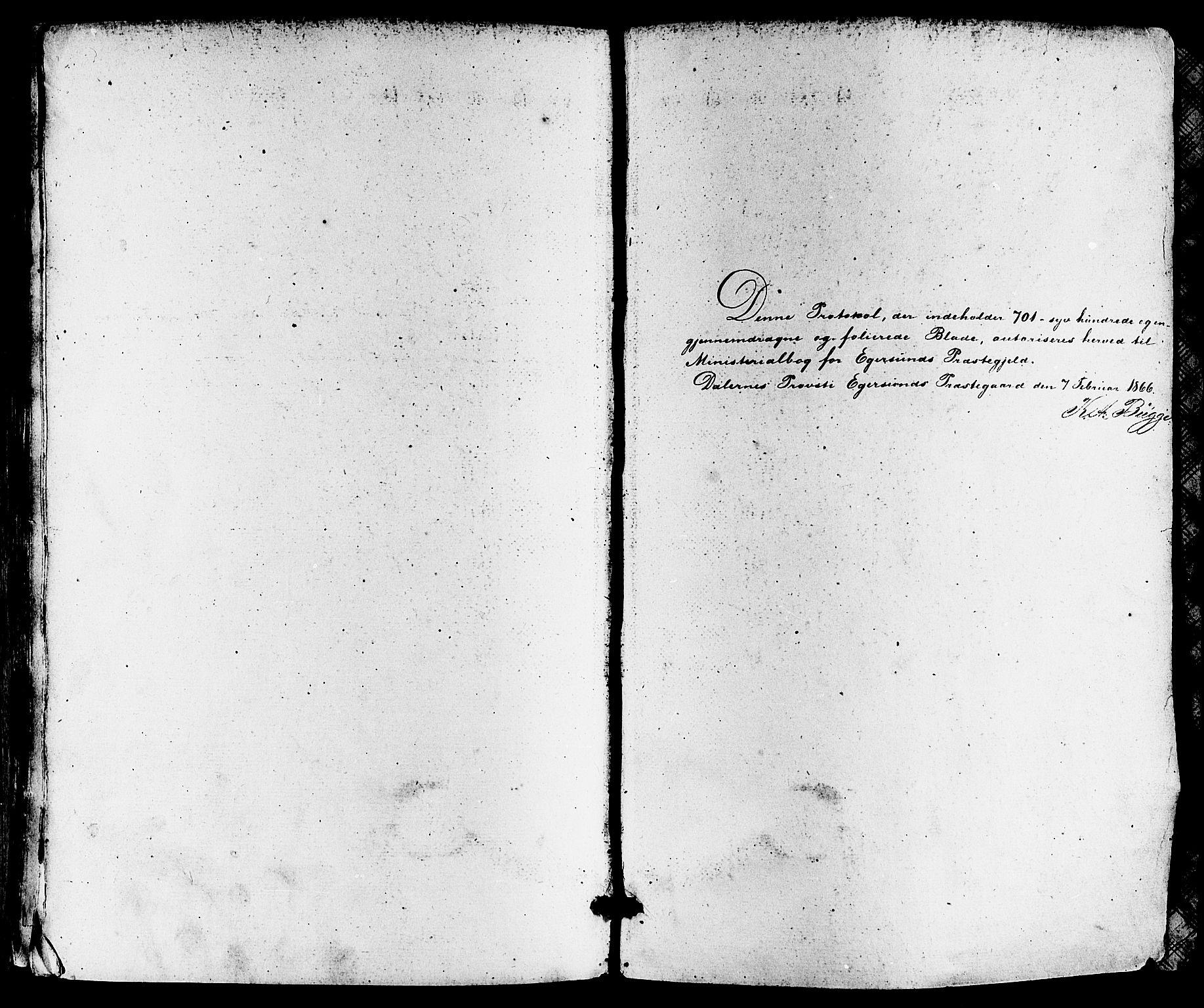 SAST, Egersund sokneprestkontor, Ministerialbok nr. A 13, 1866-1878