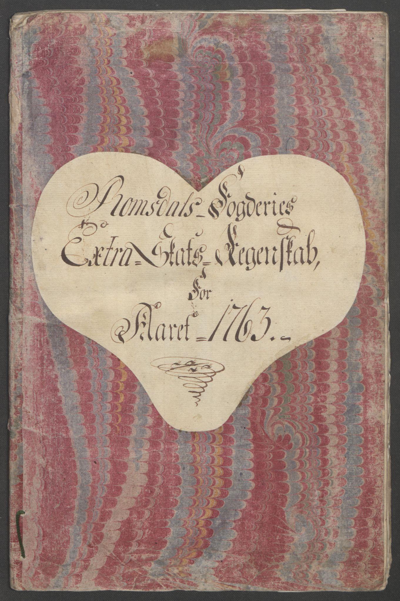 RA, Rentekammeret inntil 1814, Reviderte regnskaper, Fogderegnskap, R55/L3730: Ekstraskatten Romsdal, 1762-1763, s. 339