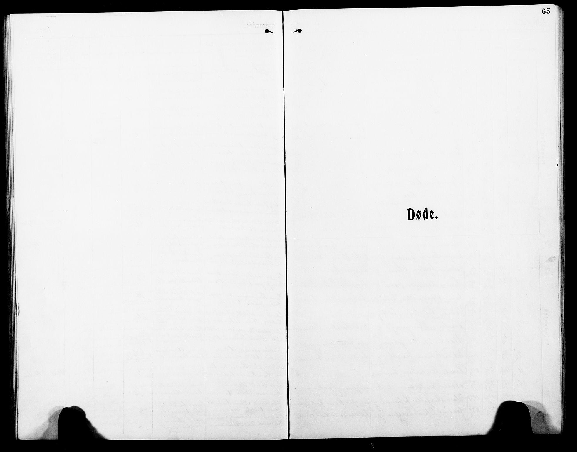 SAT, Ministerialprotokoller, klokkerbøker og fødselsregistre - Nordland, 801/L0035: Klokkerbok nr. 801C10, 1910-1923, s. 65