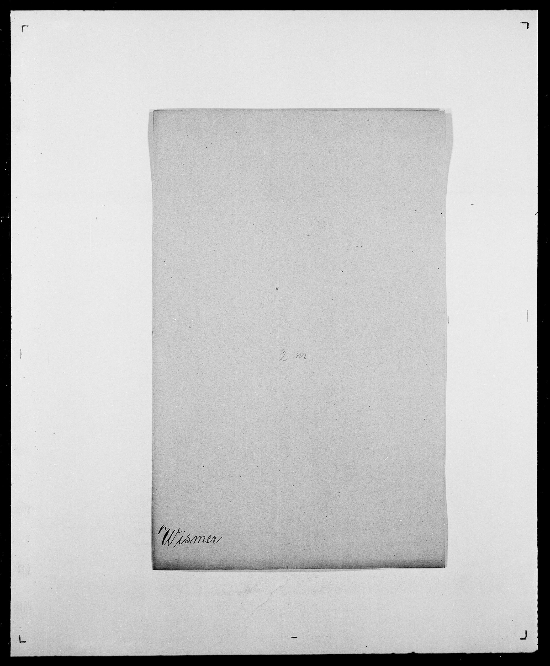SAO, Delgobe, Charles Antoine - samling, D/Da/L0042: Vilain - Wulf, Wulff, se også Wolf, s. 406