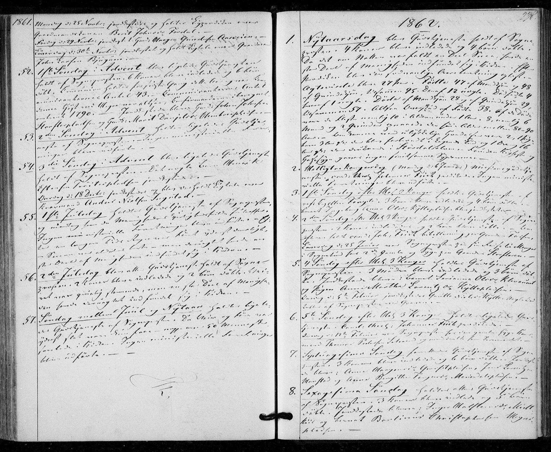 SAT, Ministerialprotokoller, klokkerbøker og fødselsregistre - Nord-Trøndelag, 703/L0028: Ministerialbok nr. 703A01, 1850-1862, s. 238