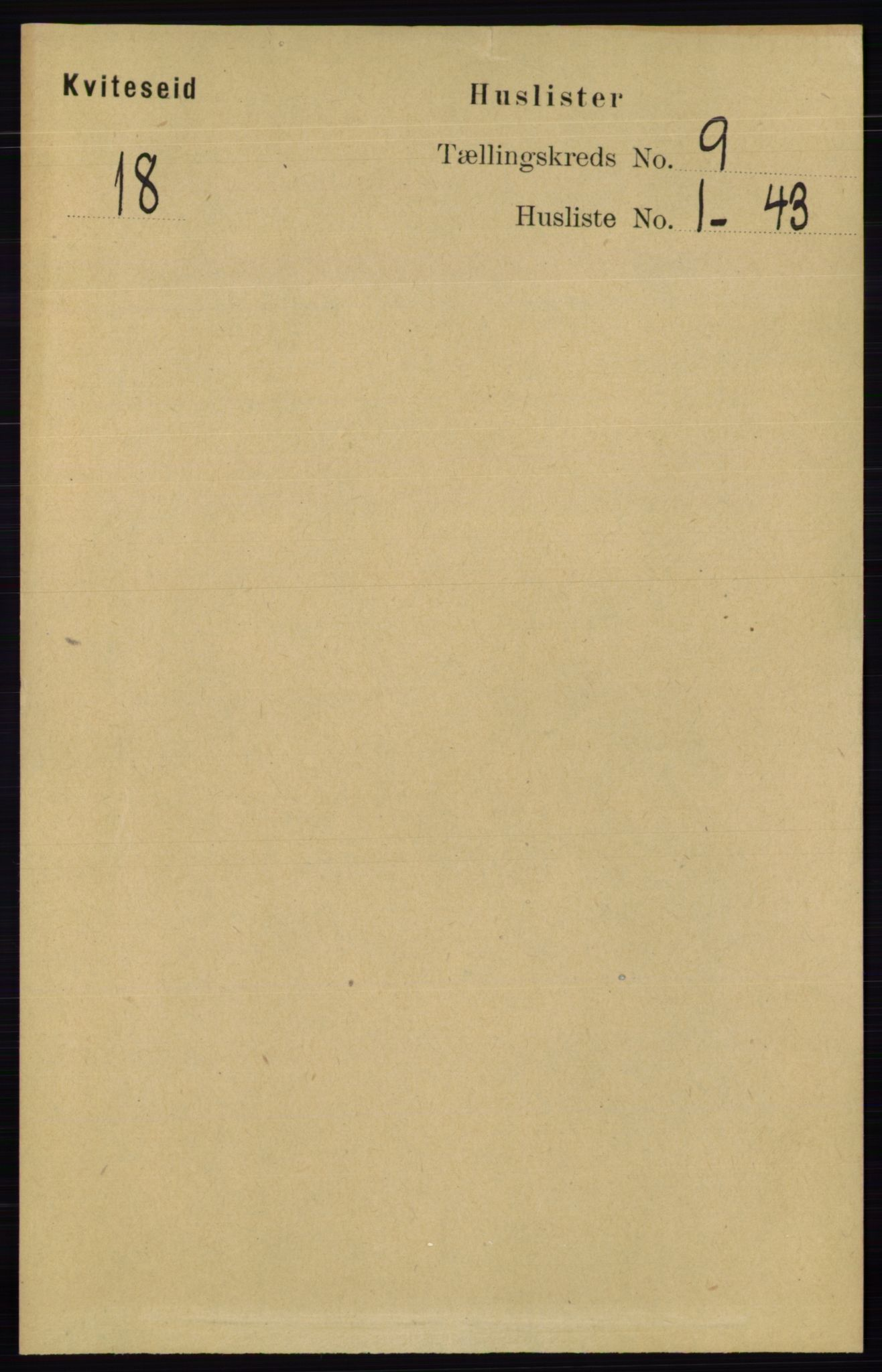 RA, Folketelling 1891 for 0829 Kviteseid herred, 1891, s. 1944