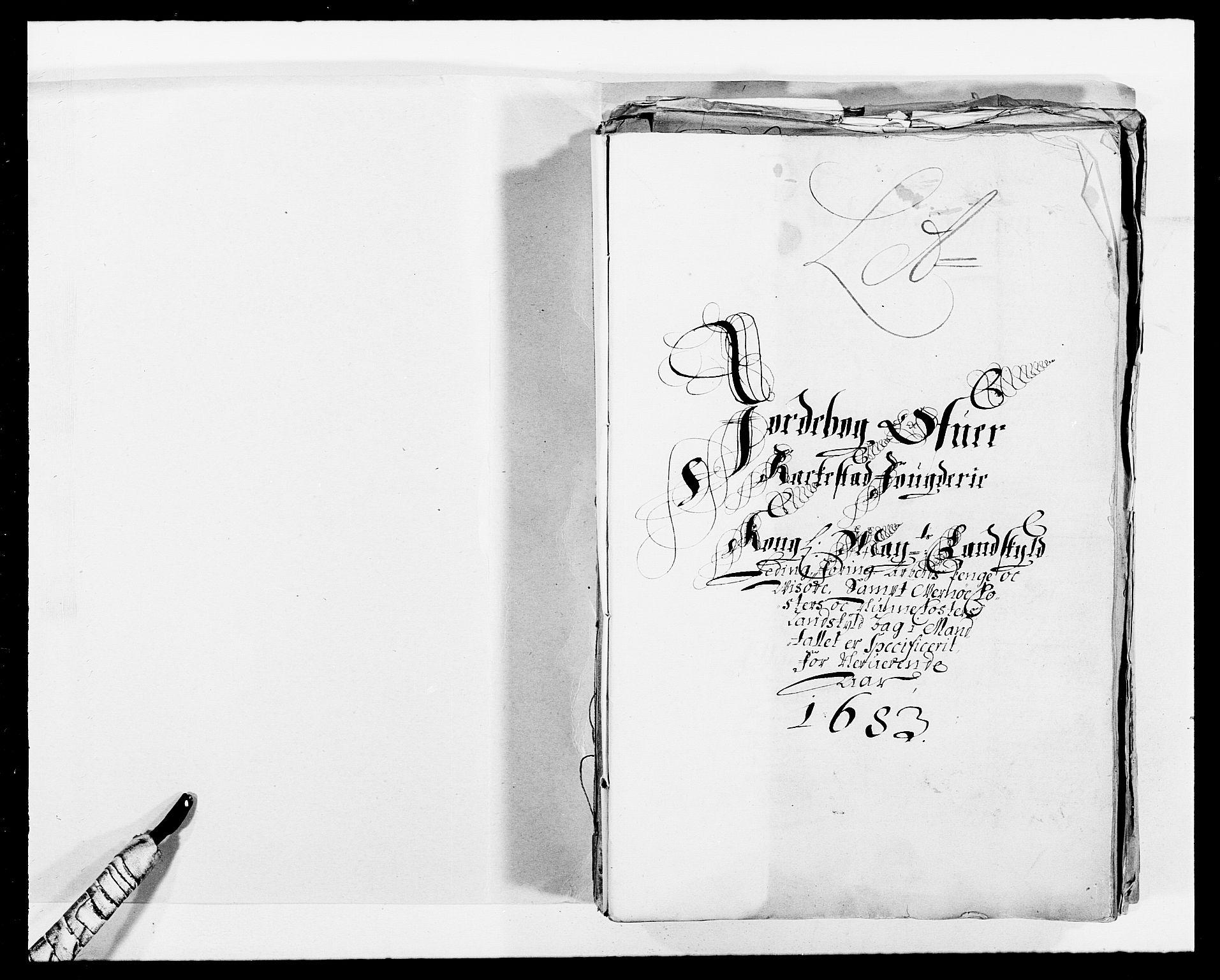 RA, Rentekammeret inntil 1814, Reviderte regnskaper, Fogderegnskap, R05/L0274: Fogderegnskap Rakkestad, 1683-1684, s. 2