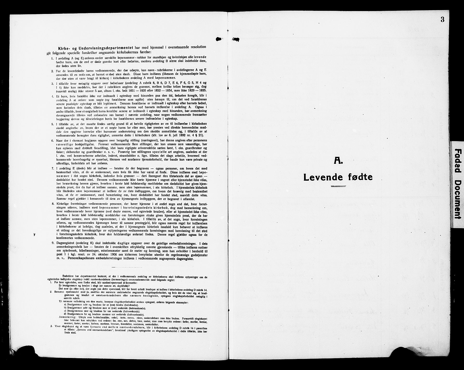 SAT, Ministerialprotokoller, klokkerbøker og fødselsregistre - Nord-Trøndelag, 780/L0653: Klokkerbok nr. 780C05, 1911-1927, s. 3