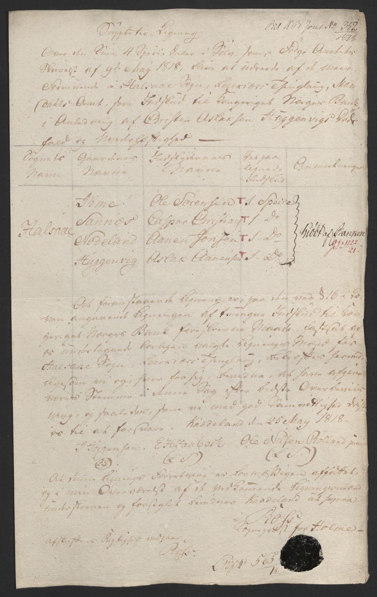 NOBA, Norges Bank/Sølvskatten 1816*, 1816-1822, s. 60