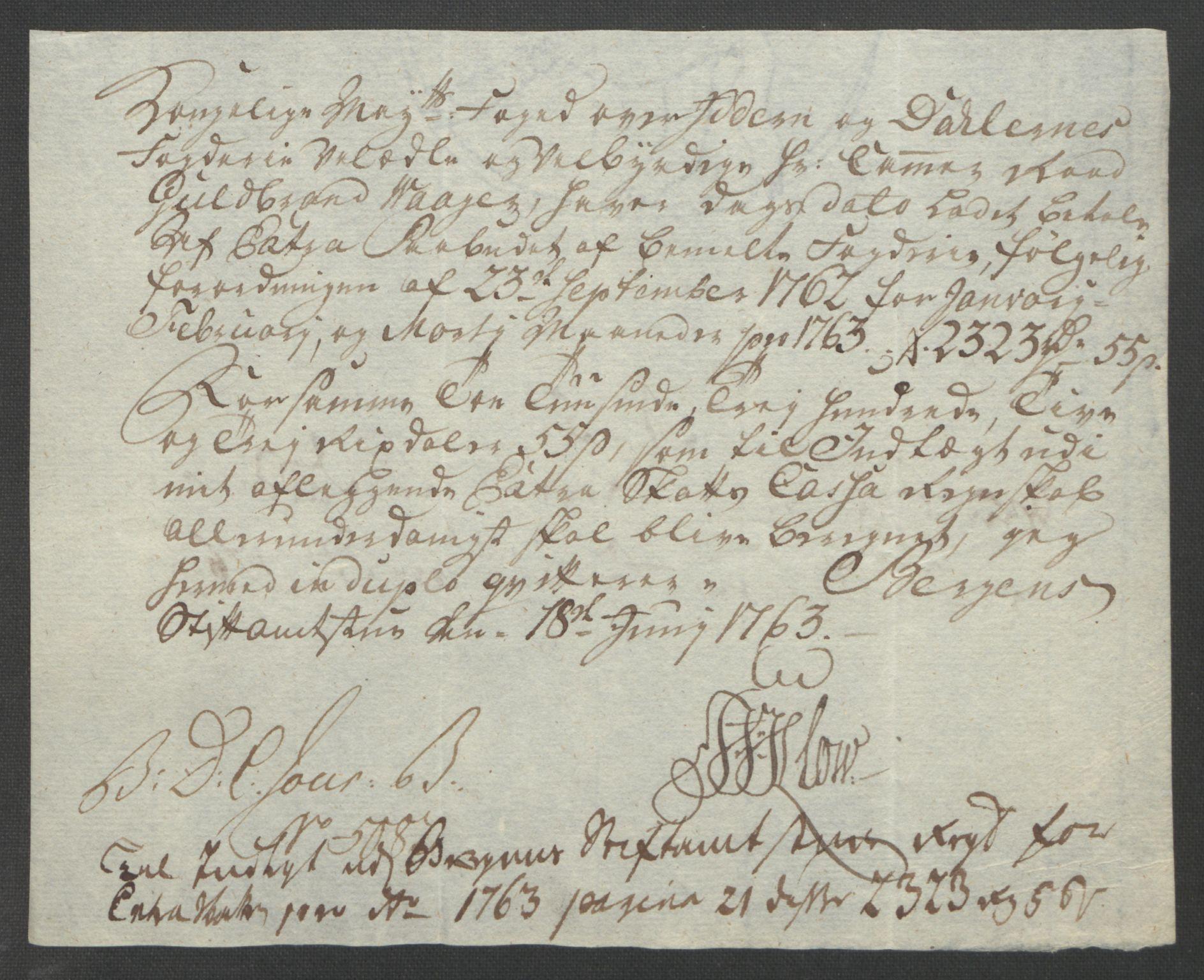 RA, Rentekammeret inntil 1814, Reviderte regnskaper, Fogderegnskap, R46/L2835: Ekstraskatten Jæren og Dalane, 1762-1764, s. 71