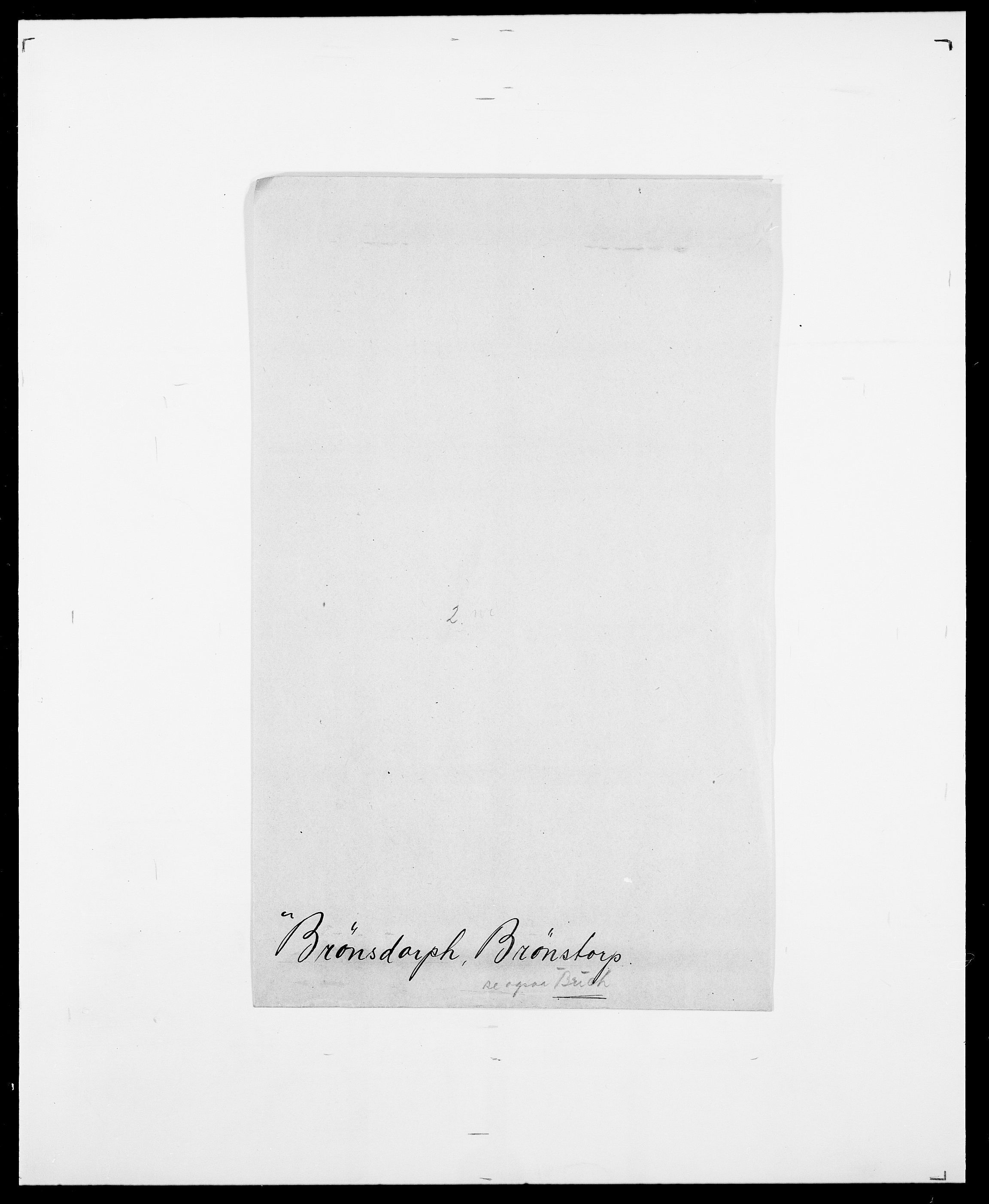 SAO, Delgobe, Charles Antoine - samling, D/Da/L0006: Brambani - Brønø, s. 1070