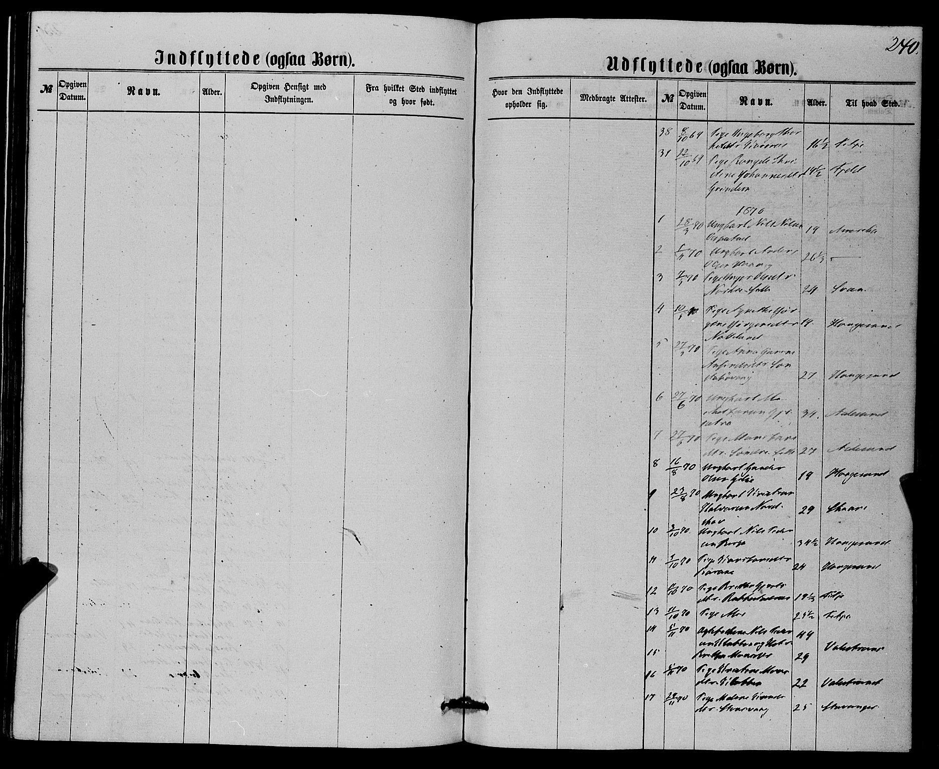 SAB, Finnås sokneprestembete, H/Ha/Haa/Haaa/L0008: Ministerialbok nr. A 8, 1863-1872, s. 240