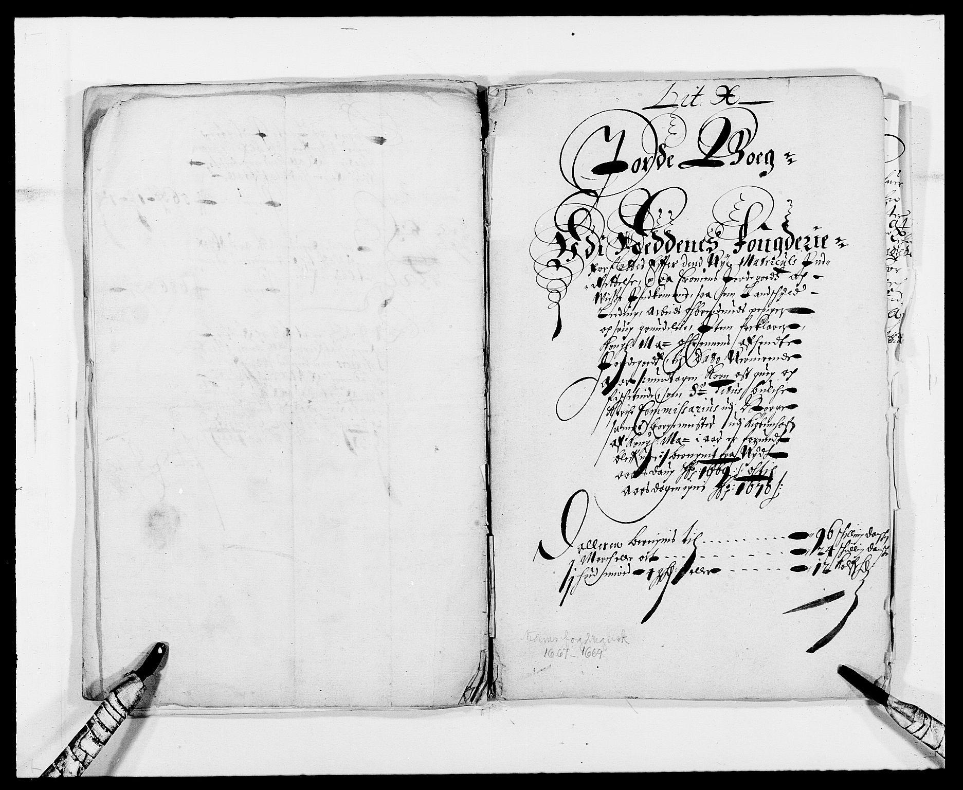 RA, Rentekammeret inntil 1814, Reviderte regnskaper, Fogderegnskap, R39/L2297: Fogderegnskap Nedenes, 1667-1669, s. 303