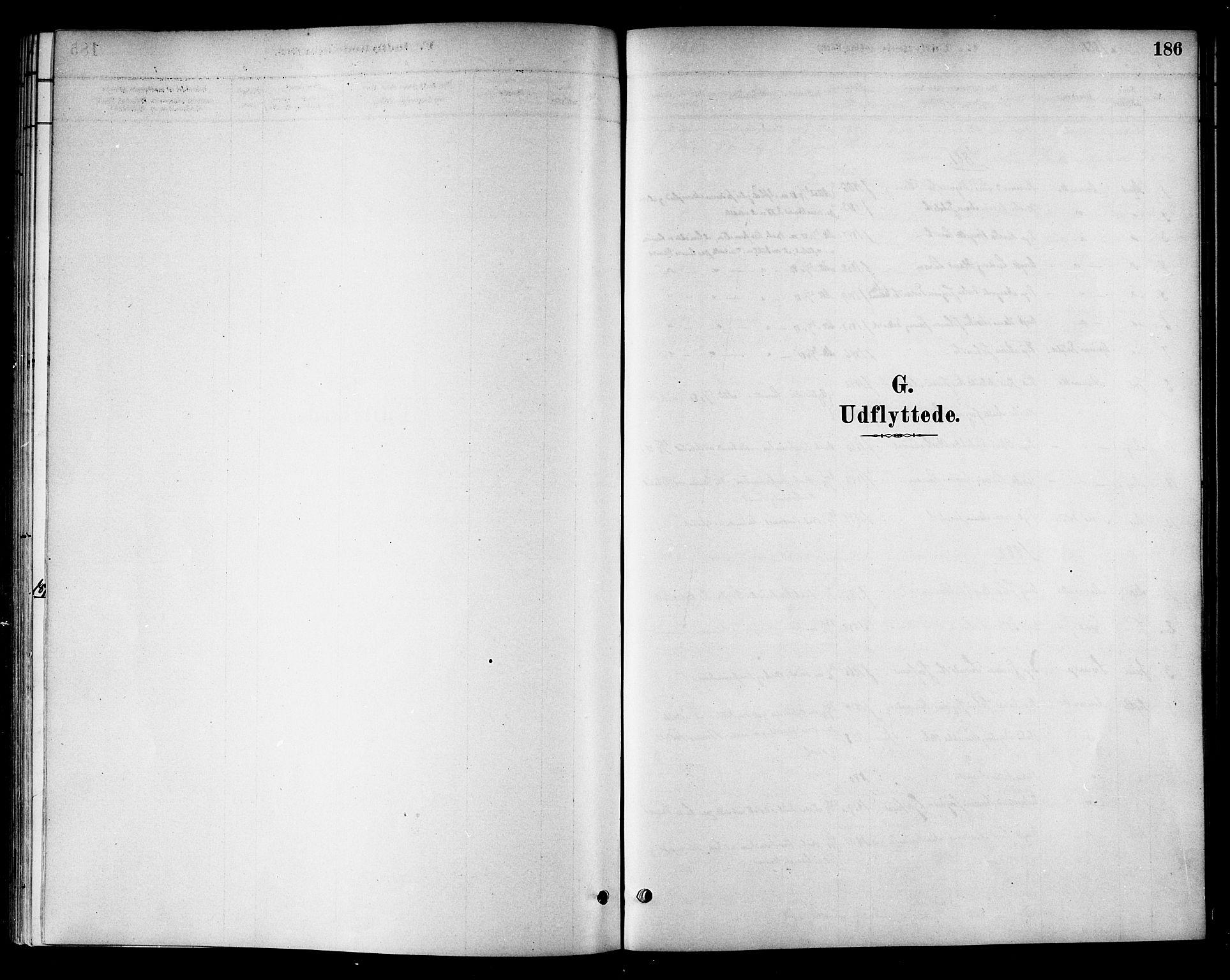 SAT, Ministerialprotokoller, klokkerbøker og fødselsregistre - Sør-Trøndelag, 654/L0663: Ministerialbok nr. 654A01, 1880-1894, s. 186