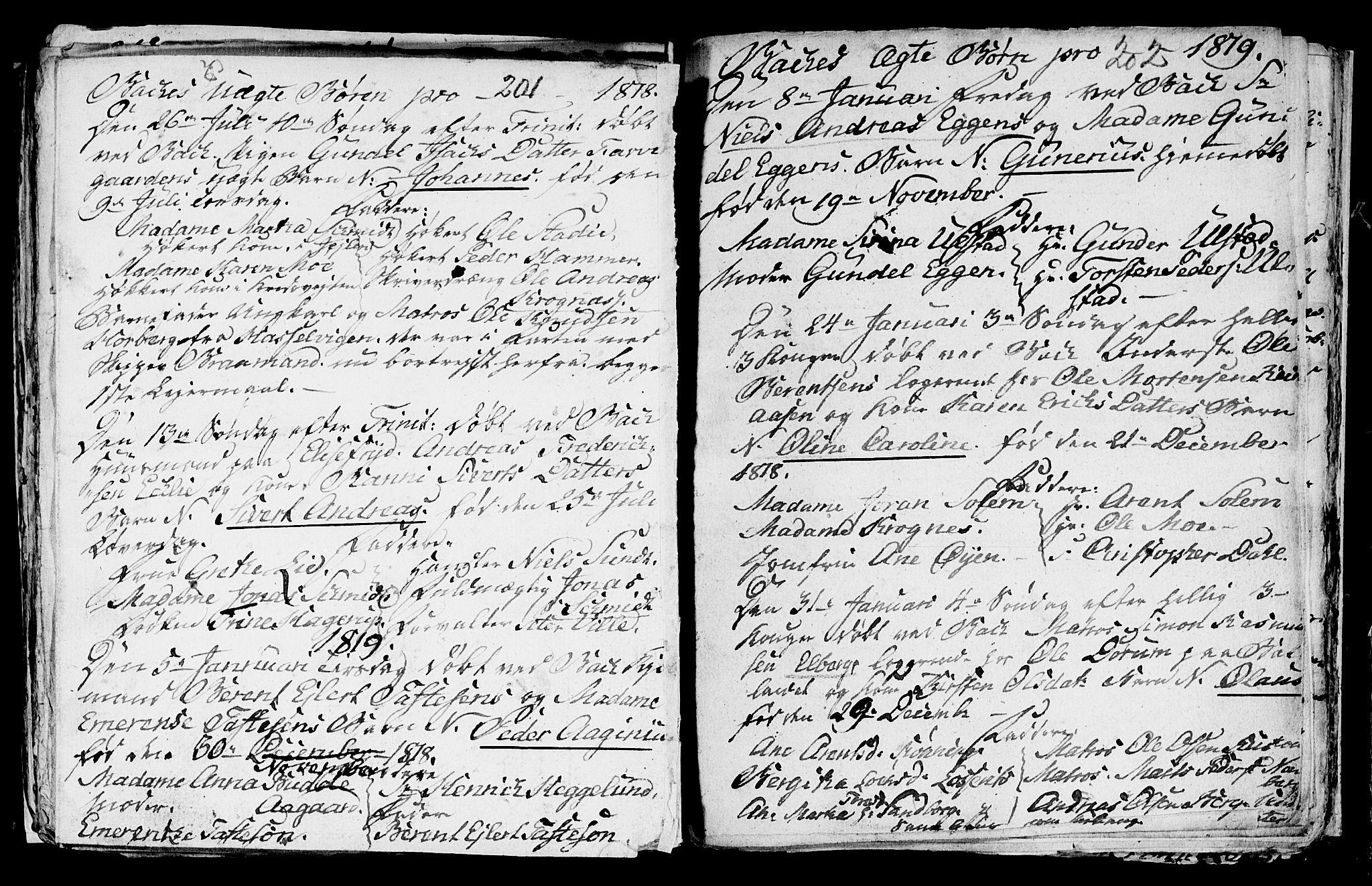SAT, Ministerialprotokoller, klokkerbøker og fødselsregistre - Sør-Trøndelag, 604/L0218: Klokkerbok nr. 604C01, 1754-1819, s. 201b-202