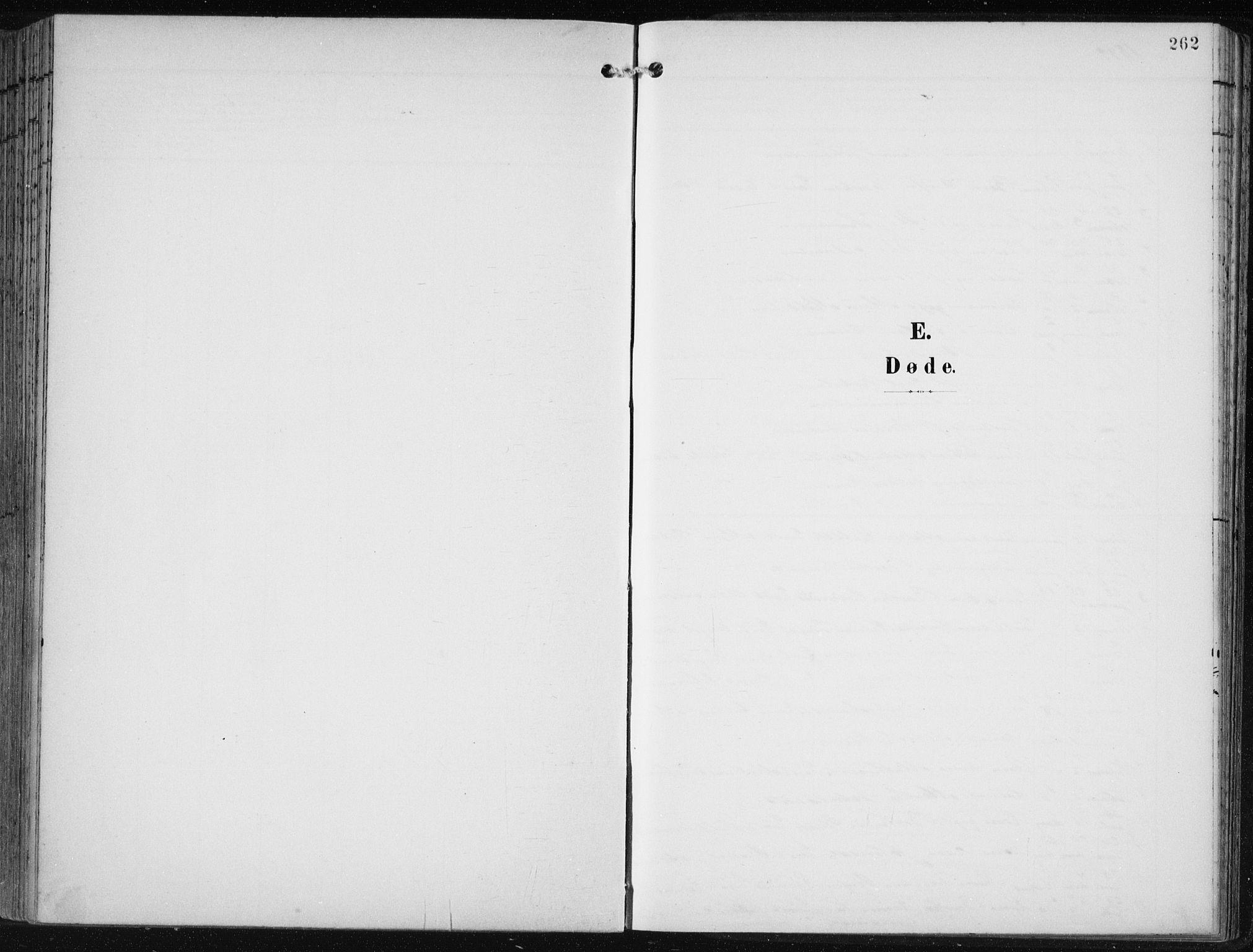 SAB, Fjell sokneprestembete, H/Haa: Ministerialbok nr. A  9, 1899-1910, s. 262