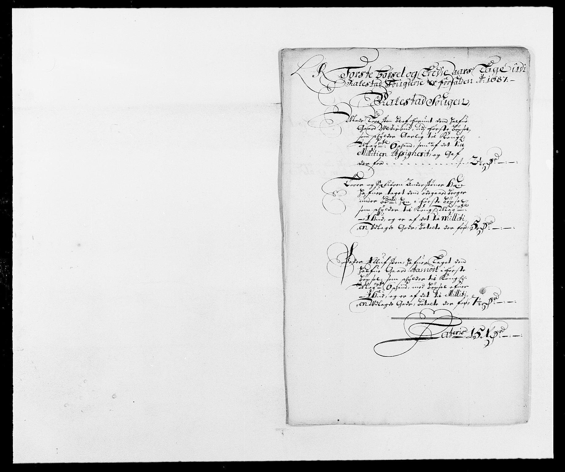RA, Rentekammeret inntil 1814, Reviderte regnskaper, Fogderegnskap, R05/L0276: Fogderegnskap Rakkestad, 1683-1688, s. 6