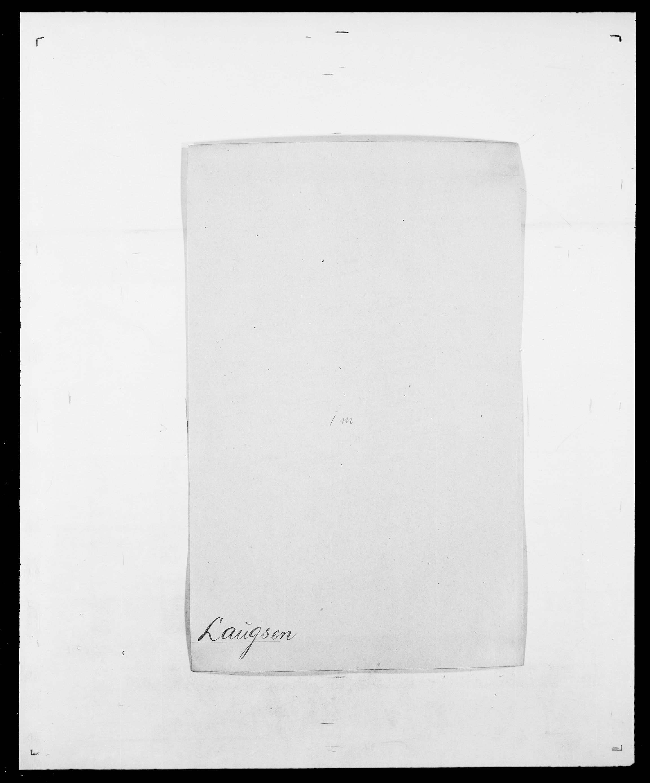SAO, Delgobe, Charles Antoine - samling, D/Da/L0023: Lau - Lirvyn, s. 11