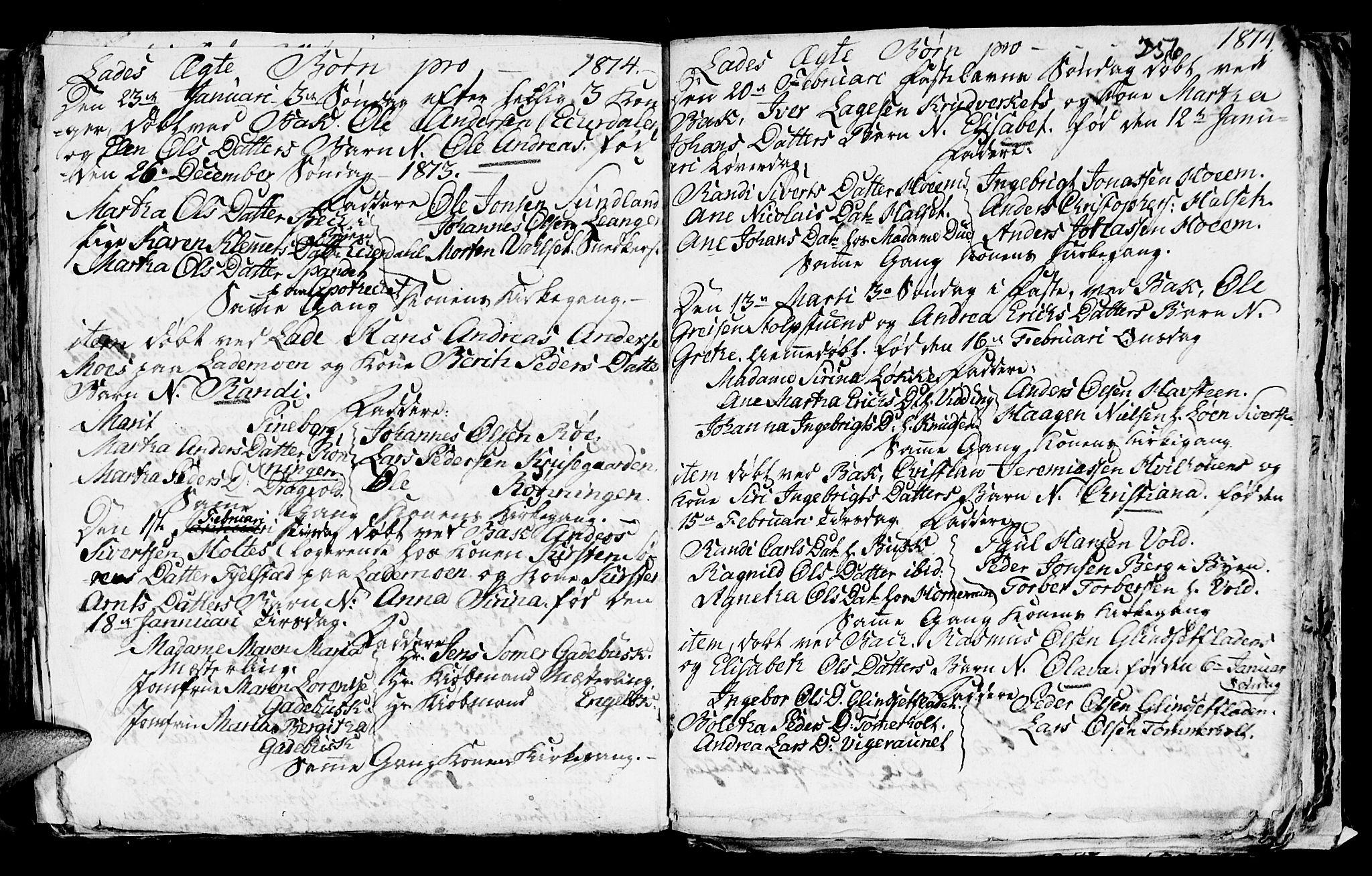 SAT, Ministerialprotokoller, klokkerbøker og fødselsregistre - Sør-Trøndelag, 606/L0305: Klokkerbok nr. 606C01, 1757-1819, s. 256