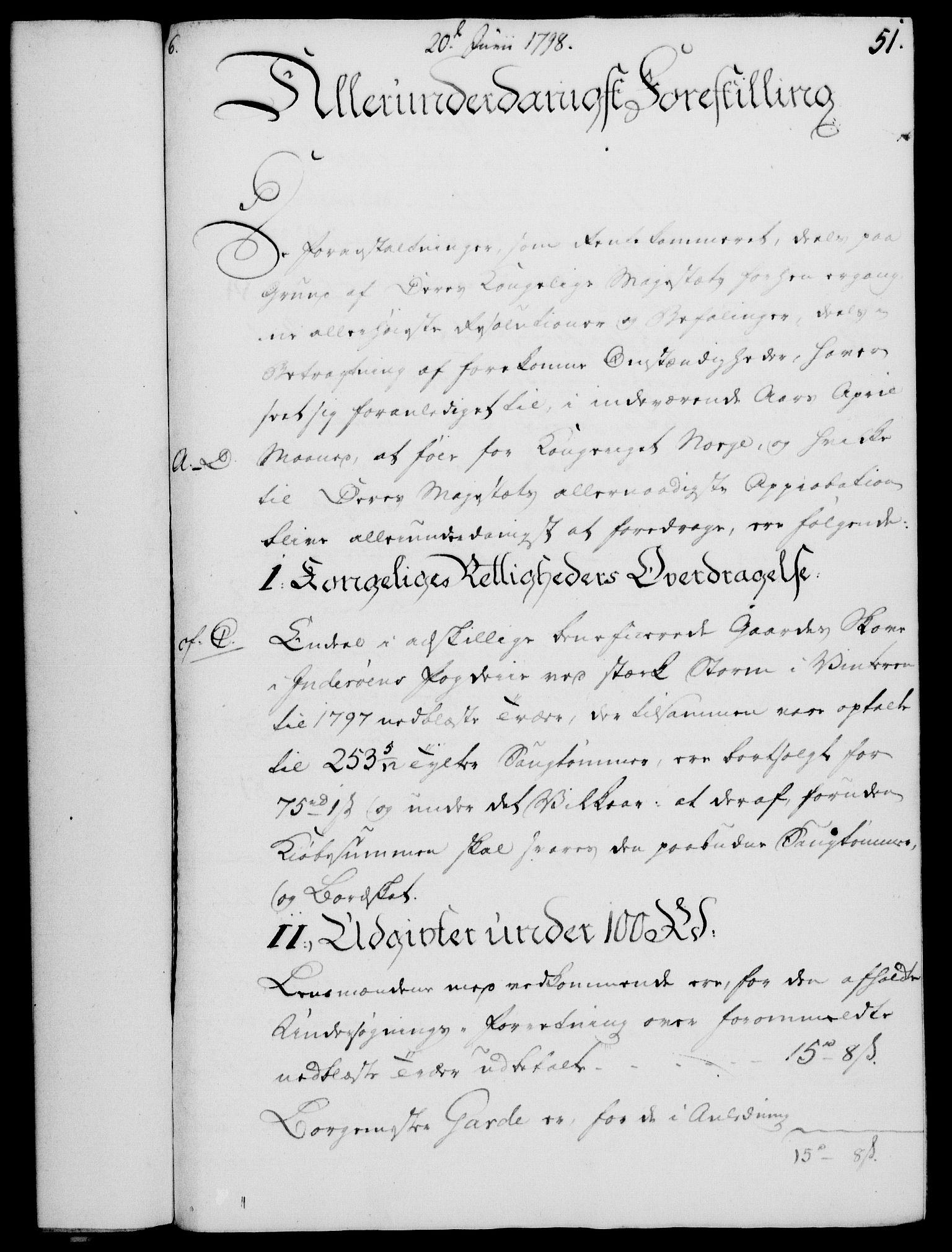 RA, Rentekammeret, Kammerkanselliet, G/Gf/Gfa/L0080: Norsk relasjons- og resolusjonsprotokoll (merket RK 52.80), 1798, s. 378