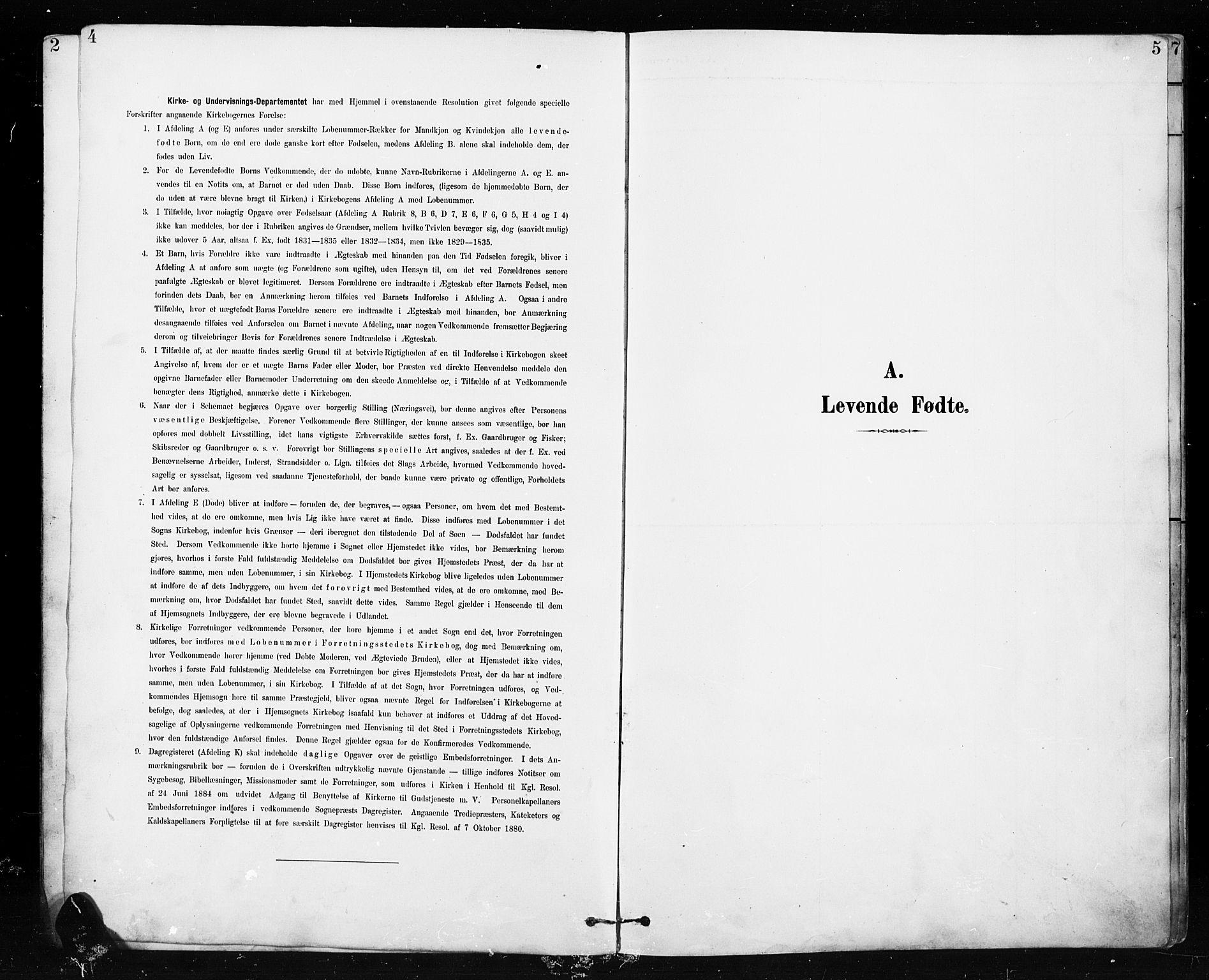 SAH, Etnedal prestekontor, H/Ha/Hab/Habb/L0001: Klokkerbok nr. II 1, 1894-1911, s. 4-5