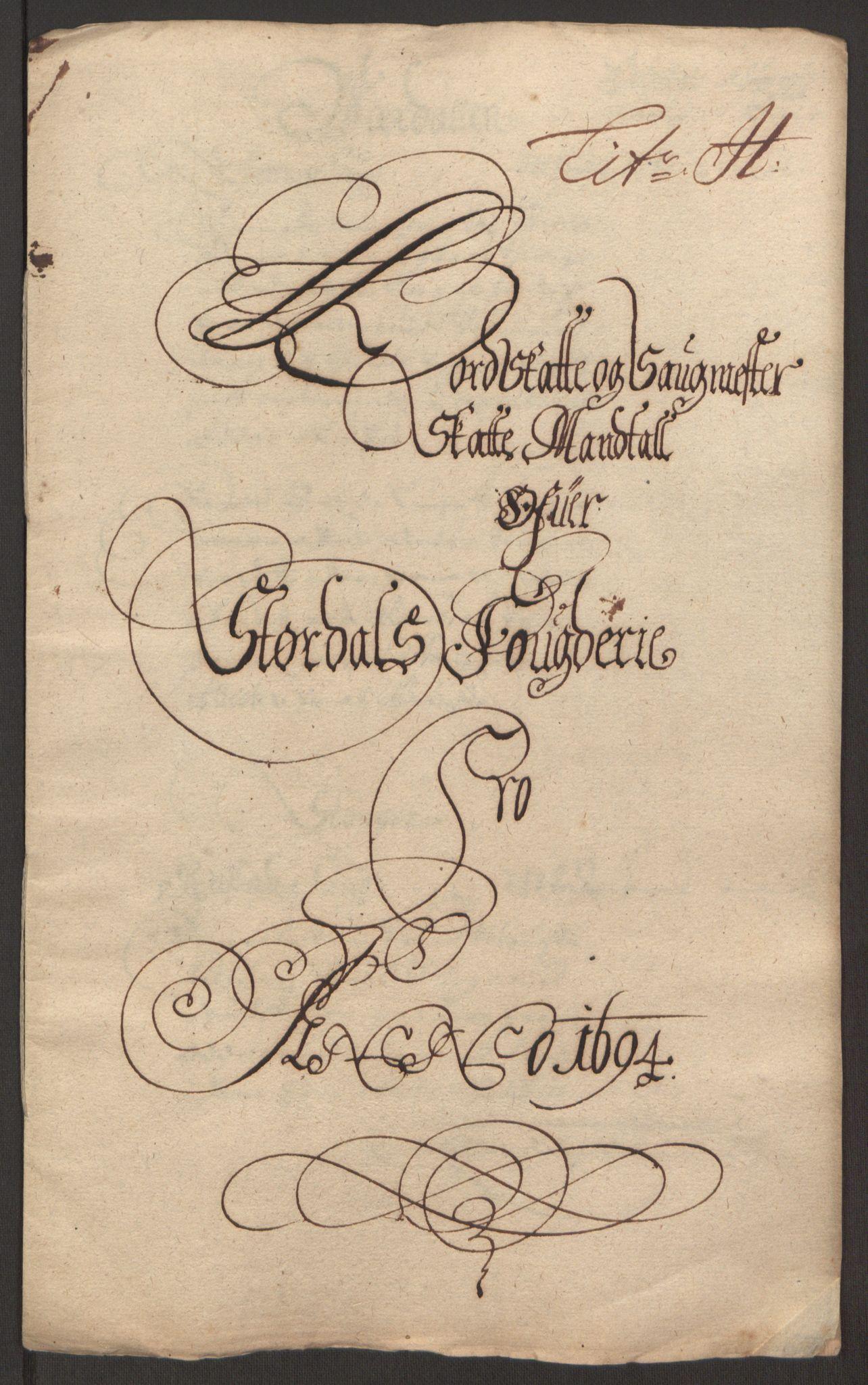 RA, Rentekammeret inntil 1814, Reviderte regnskaper, Fogderegnskap, R62/L4186: Fogderegnskap Stjørdal og Verdal, 1693-1694, s. 232
