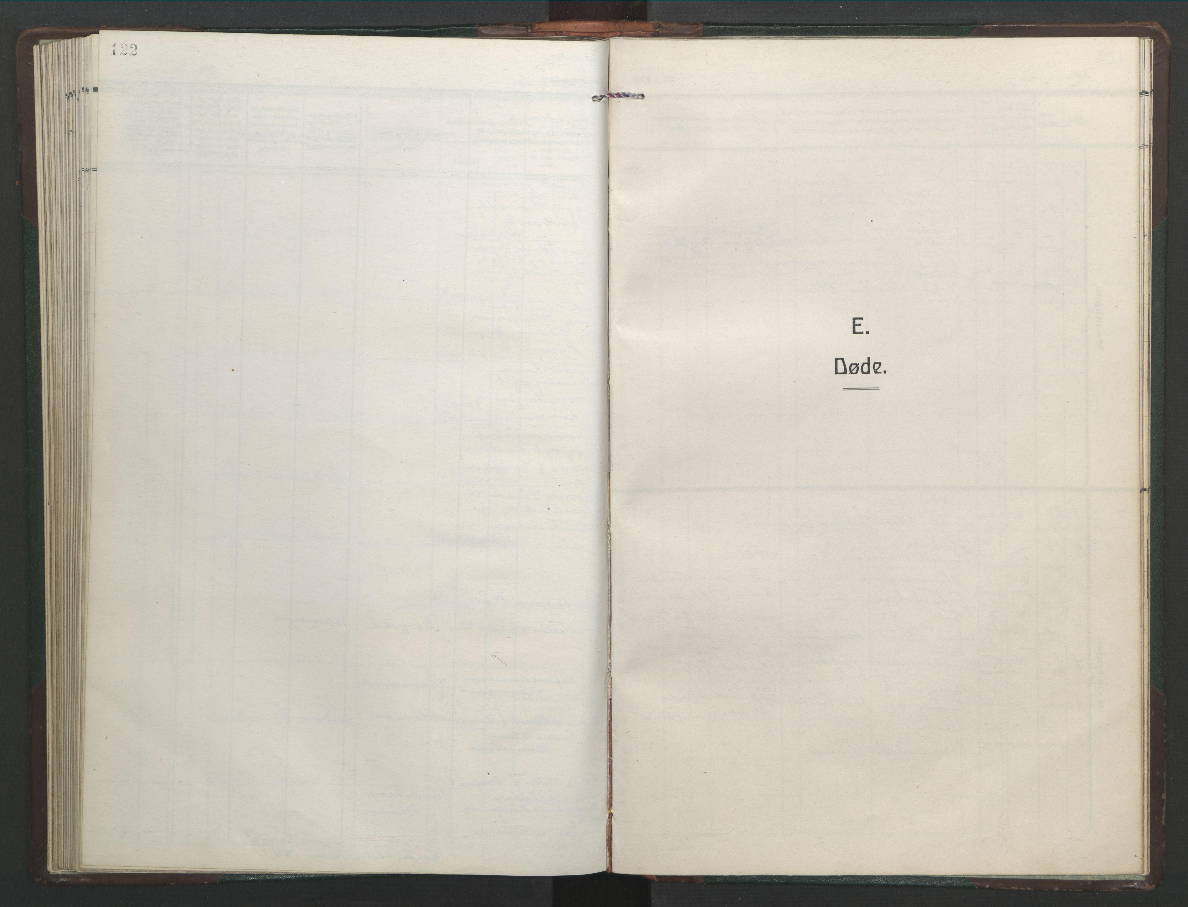 SAT, Ministerialprotokoller, klokkerbøker og fødselsregistre - Sør-Trøndelag, 682/L0947: Klokkerbok nr. 682C01, 1926-1968, s. 122