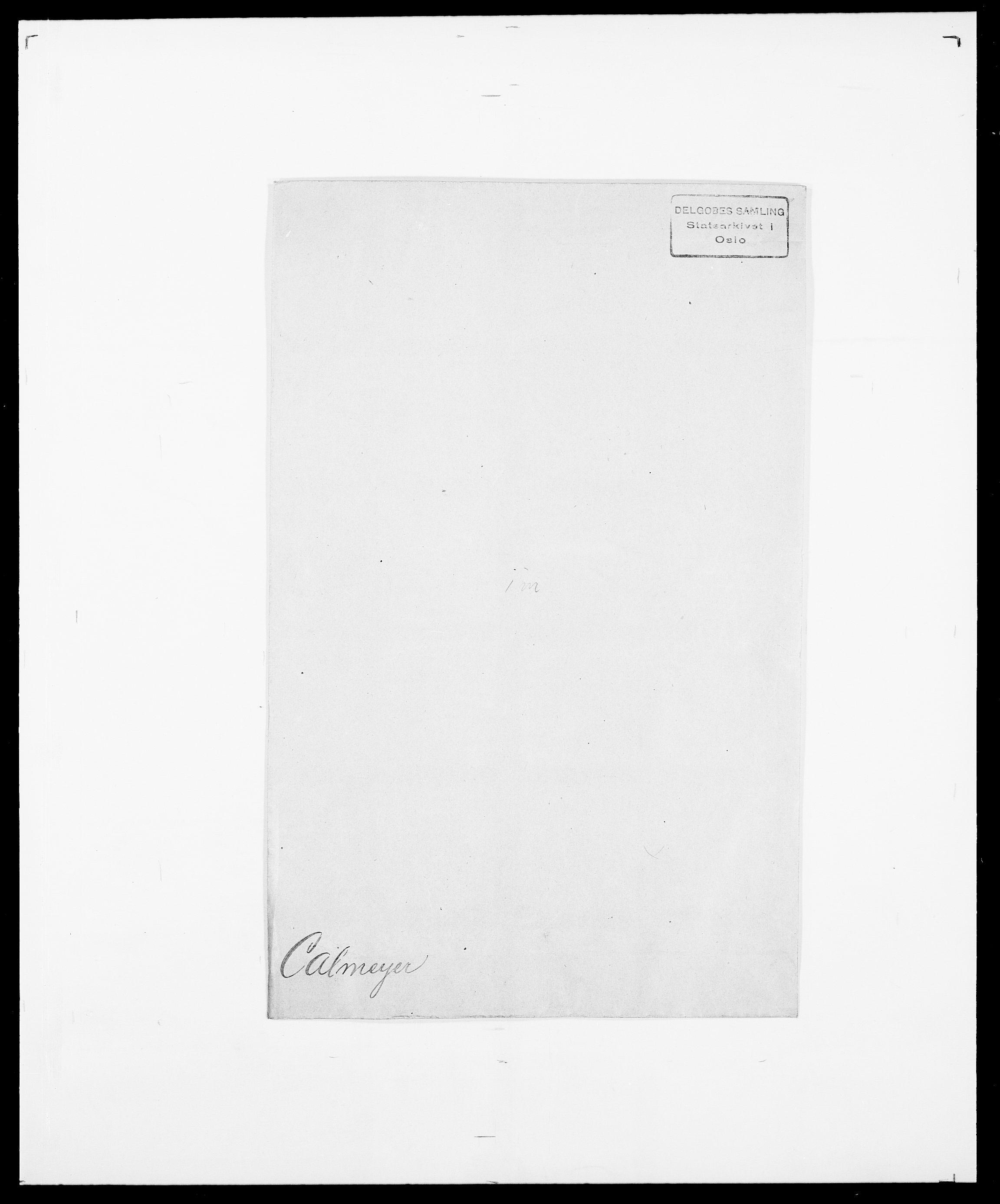 SAO, Delgobe, Charles Antoine - samling, D/Da/L0007: Buaas - Caphengst, s. 827