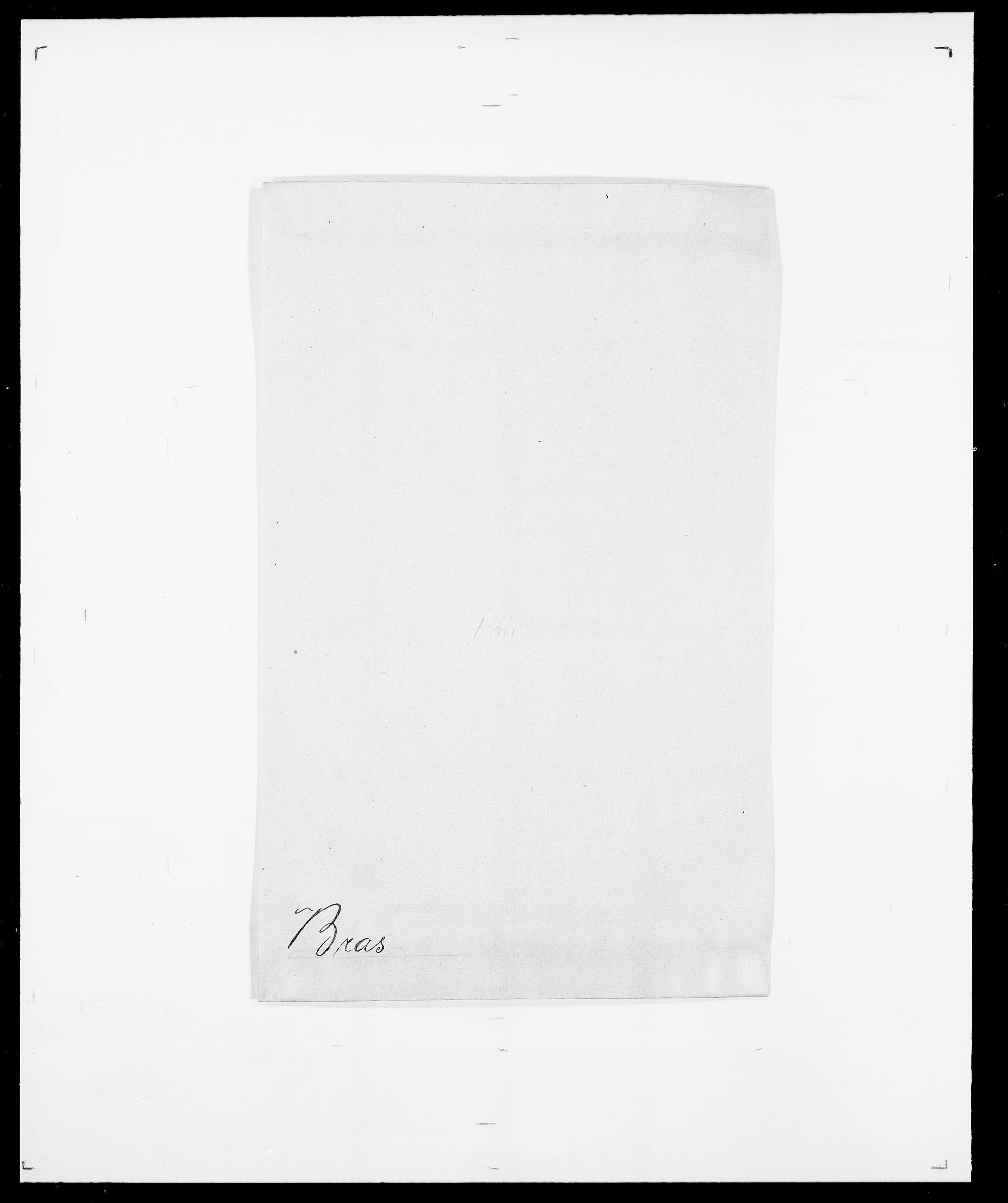 SAO, Delgobe, Charles Antoine - samling, D/Da/L0006: Brambani - Brønø, s. 172