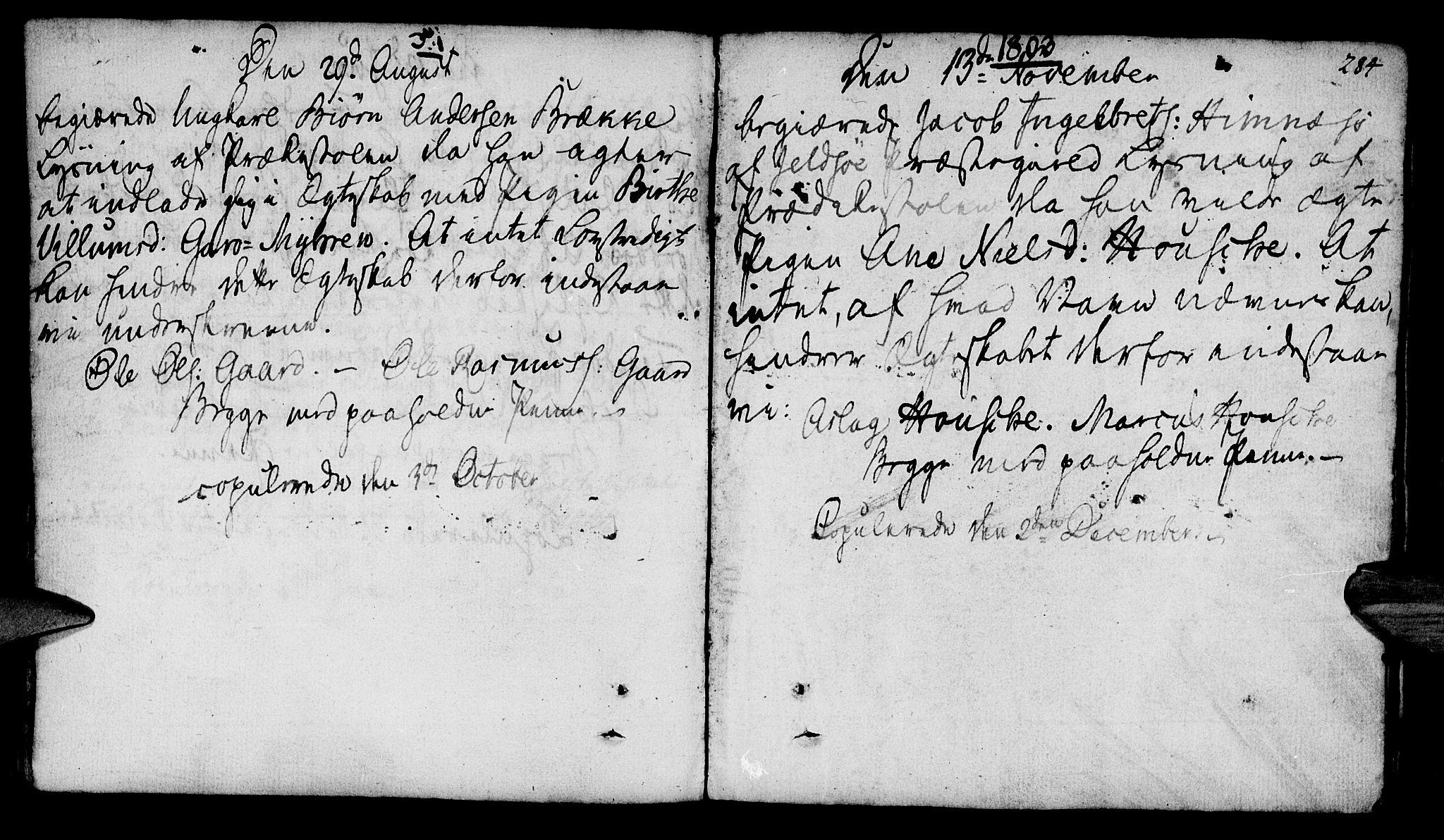 SAST, Finnøy sokneprestkontor, H/Ha/Haa/L0005: Ministerialbok nr. A 5, 1773-1816, s. 284