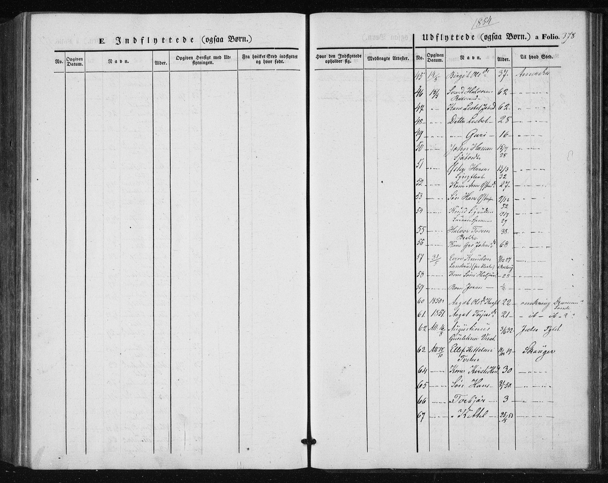 SAKO, Tinn kirkebøker, F/Fa/L0005: Ministerialbok nr. I 5, 1844-1856, s. 378