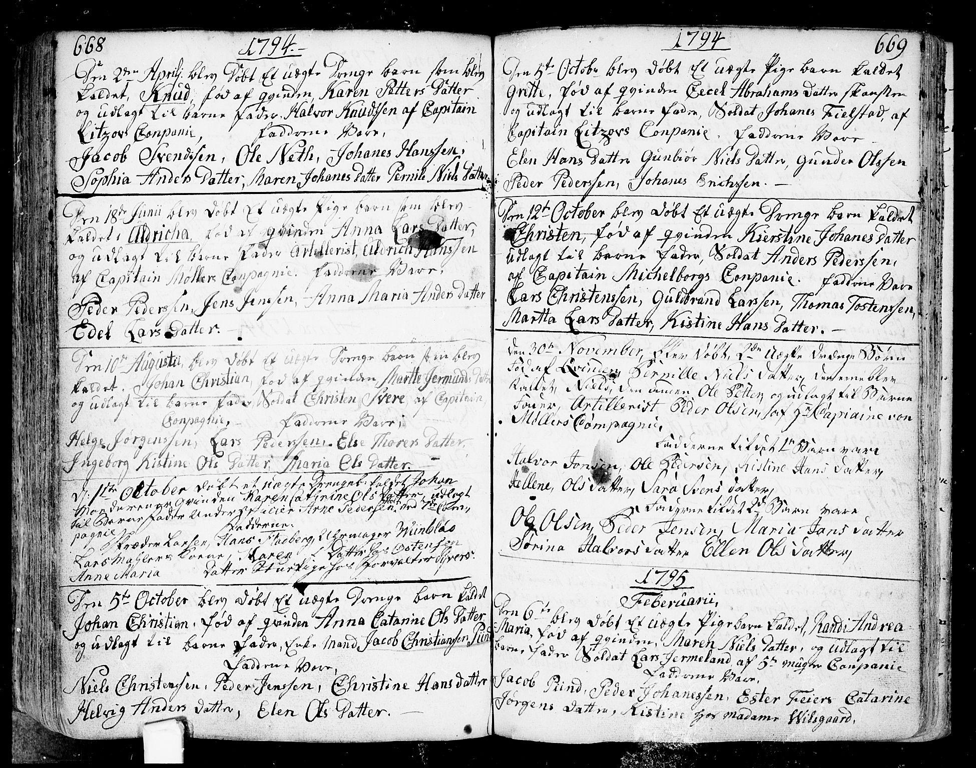 SAO, Fredrikstad prestekontor Kirkebøker, F/Fa/L0002: Ministerialbok nr. 2, 1750-1804, s. 668-669