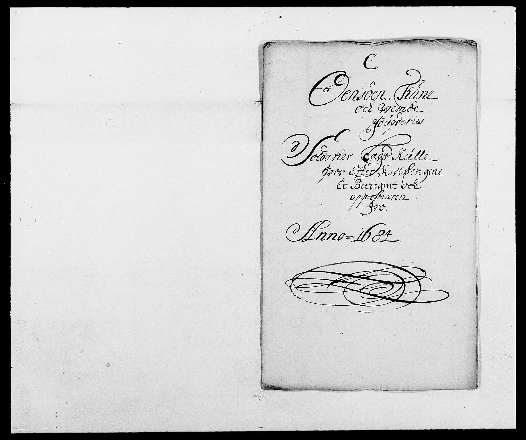 RA, Rentekammeret inntil 1814, Reviderte regnskaper, Fogderegnskap, R03/L0115: Fogderegnskap Onsøy, Tune, Veme og Åbygge fogderi, 1684-1689, s. 116