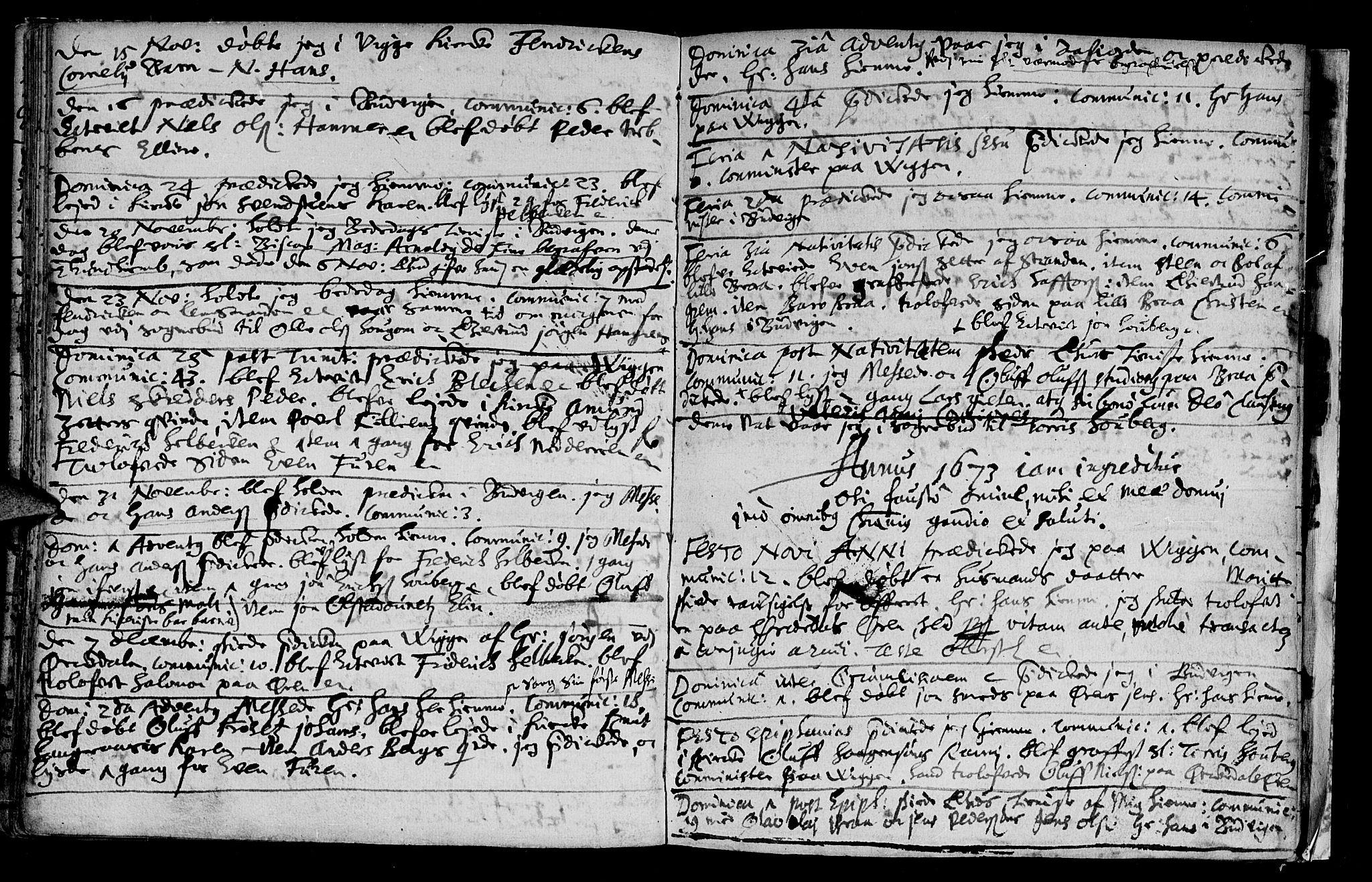 SAT, Ministerialprotokoller, klokkerbøker og fødselsregistre - Sør-Trøndelag, 612/L0367: Ministerialbok nr. 612A01, 1667-1684