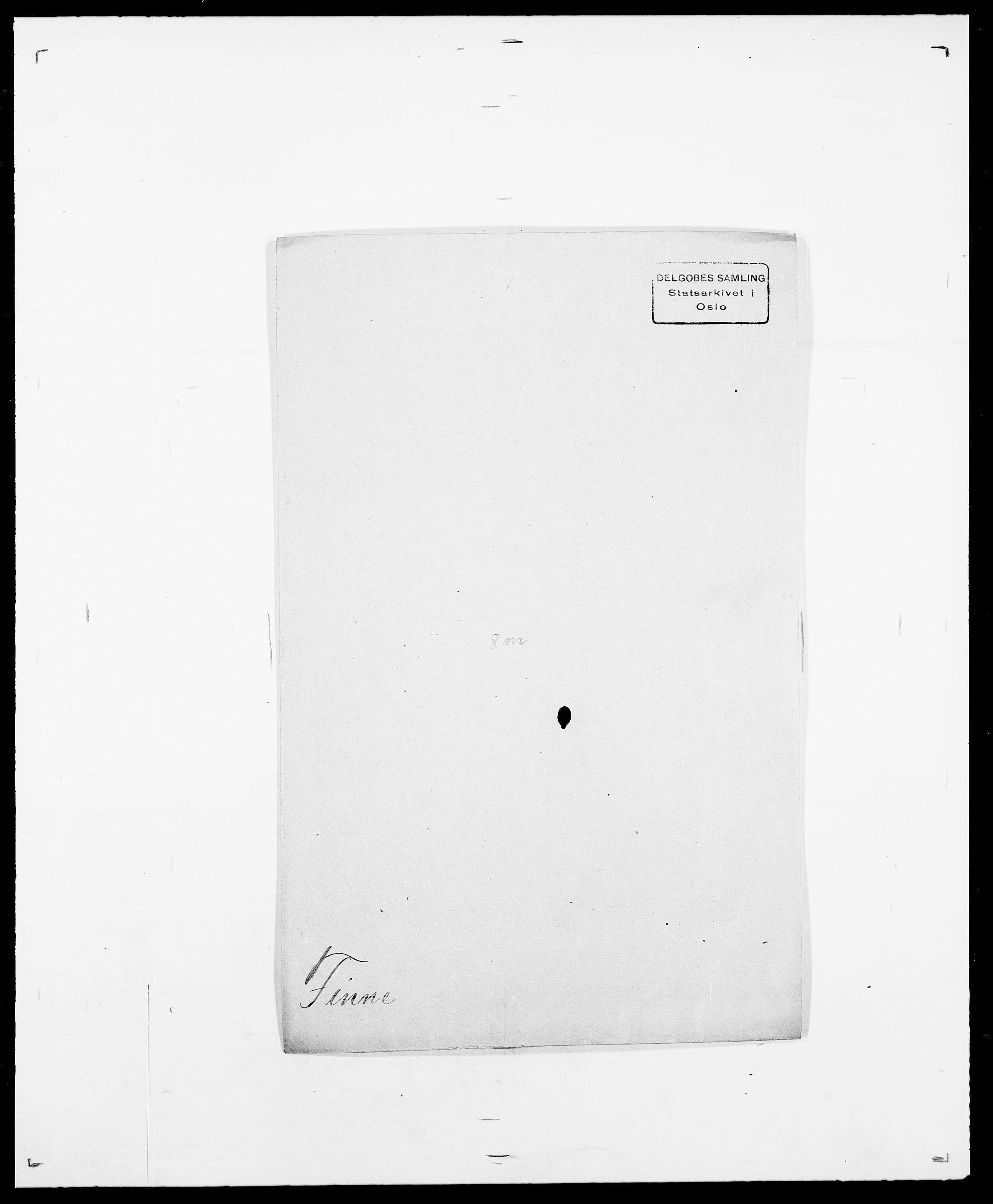 SAO, Delgobe, Charles Antoine - samling, D/Da/L0011: Fahlander - Flood, Flod, s. 493