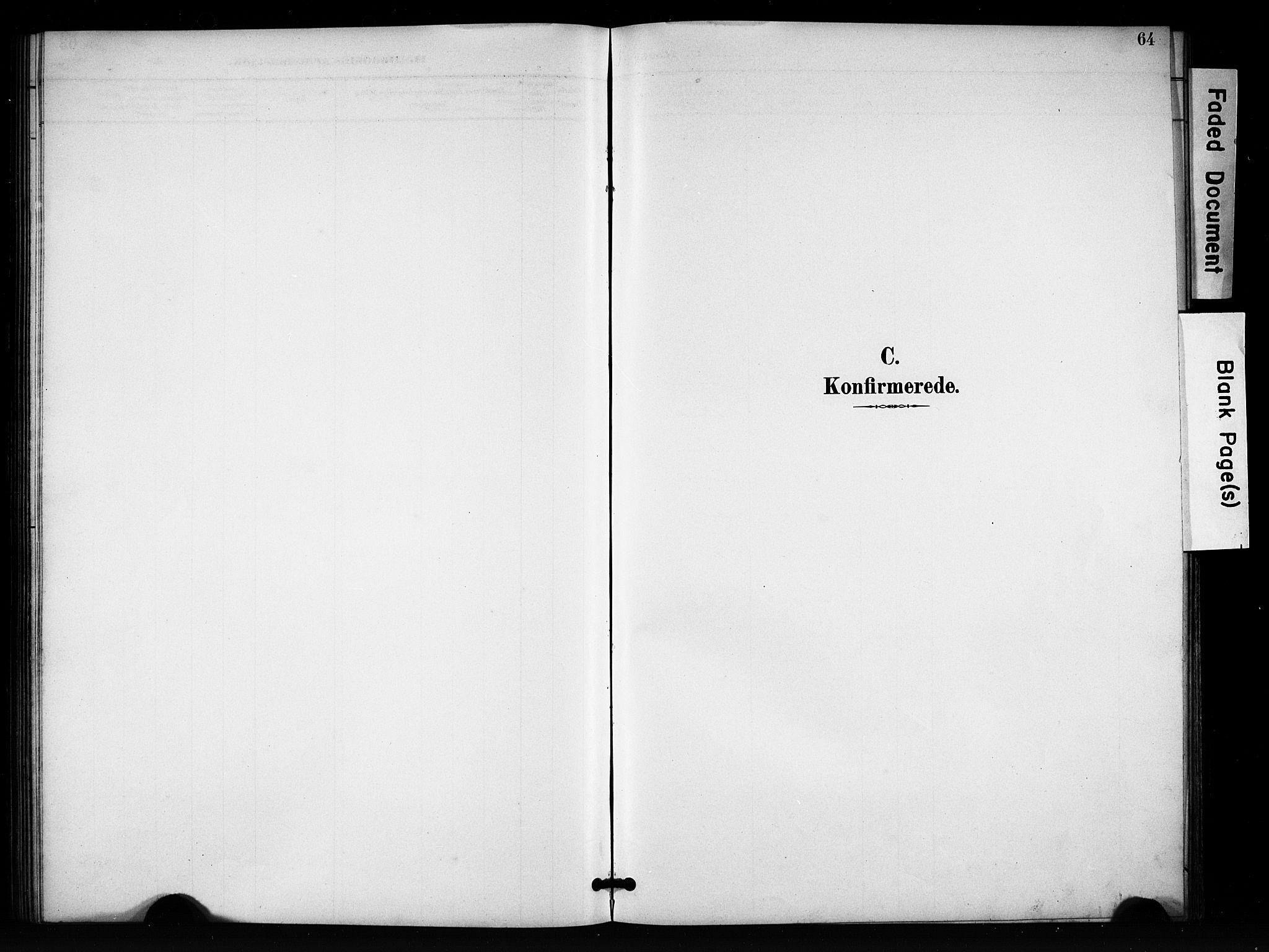 SAH, Vang prestekontor, Valdres, Klokkerbok nr. 7, 1893-1924, s. 64