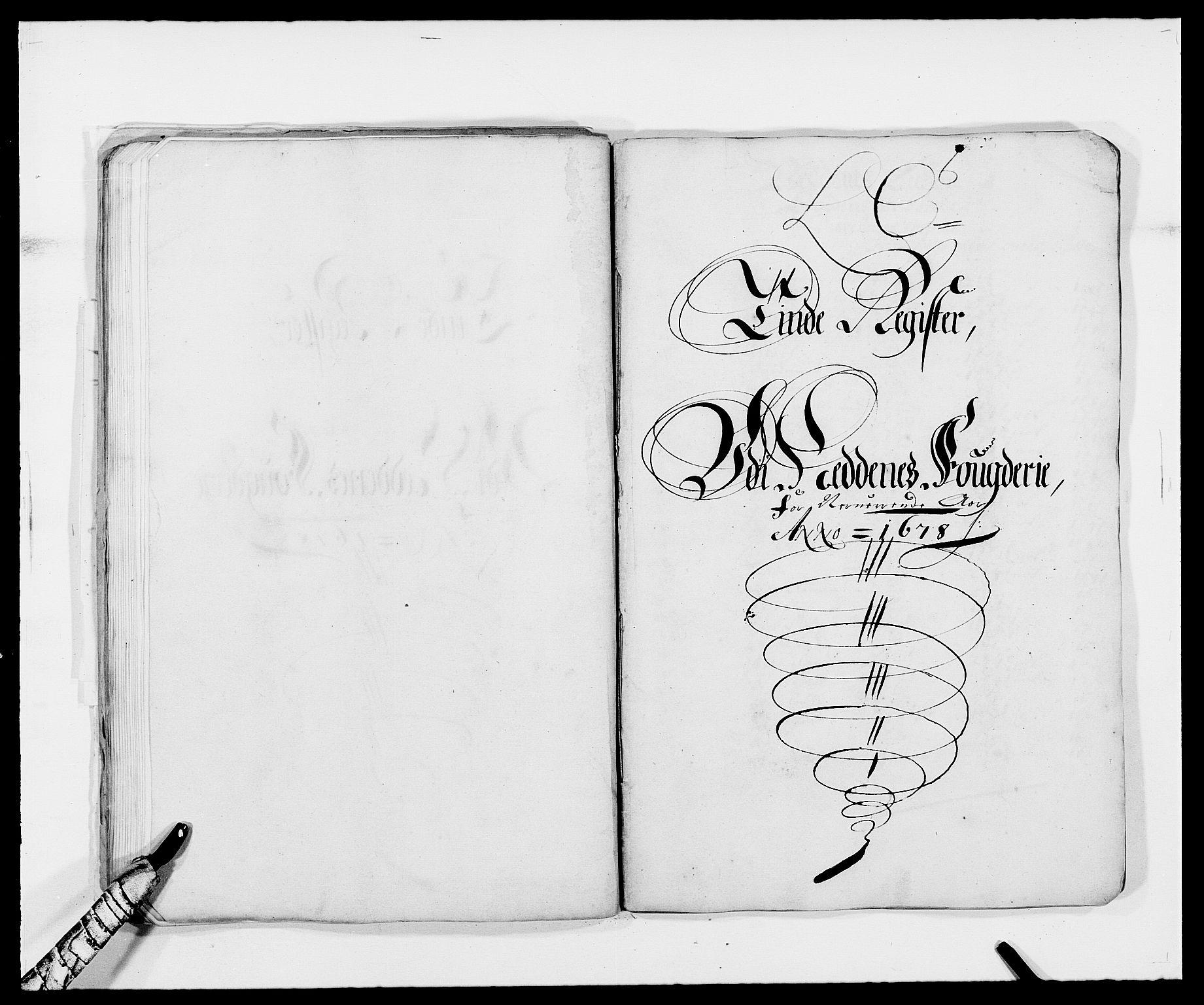 RA, Rentekammeret inntil 1814, Reviderte regnskaper, Fogderegnskap, R39/L2302: Fogderegnskap Nedenes, 1677-1678, s. 232