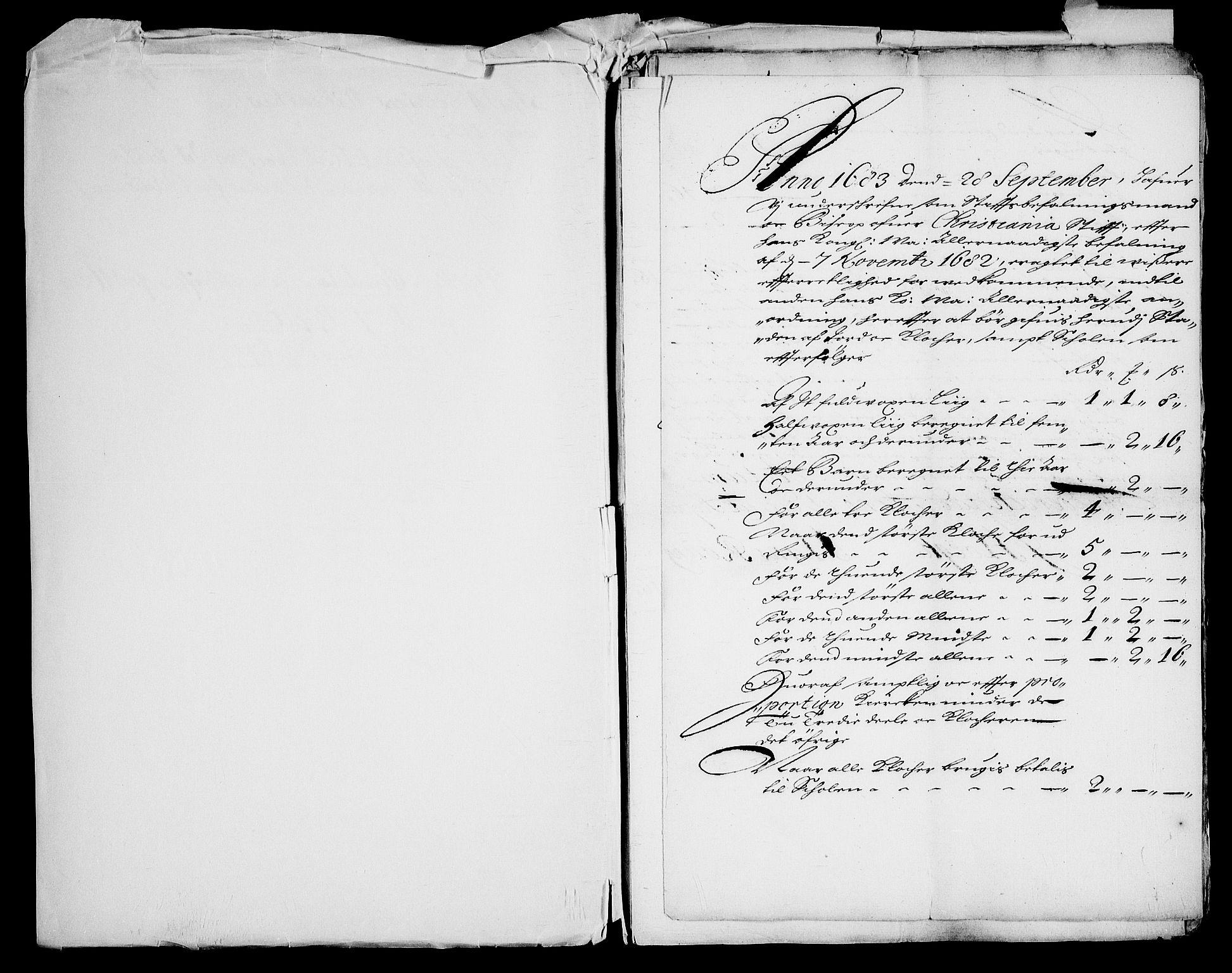 RA, Danske Kanselli, Skapsaker, G/L0019: Tillegg til skapsakene, 1616-1753, s. 207