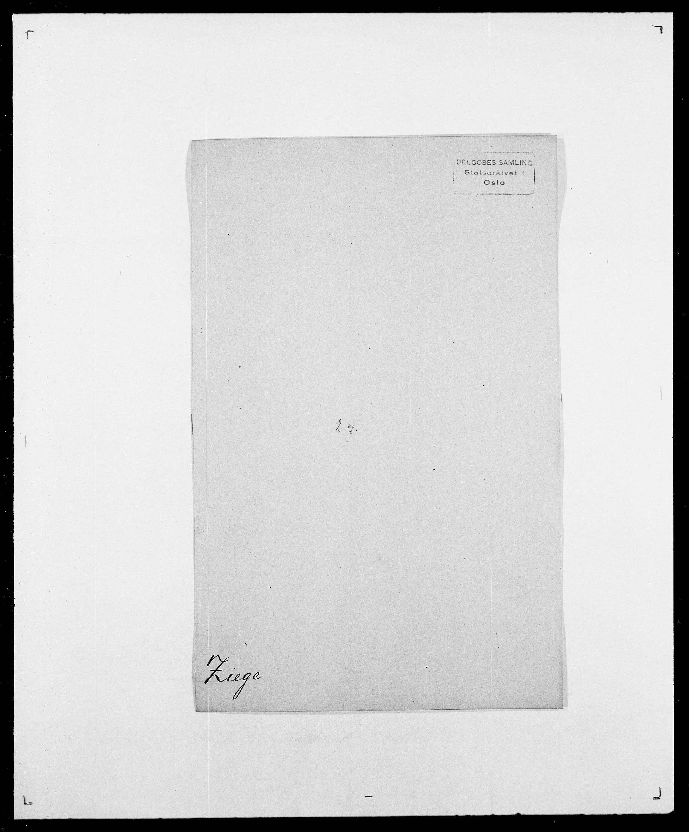 SAO, Delgobe, Charles Antoine - samling, D/Da/L0043: Wulfsberg - v. Zanten, s. 121
