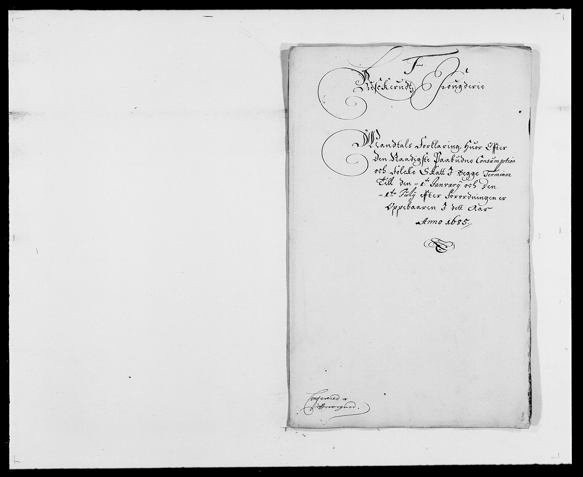 RA, Rentekammeret inntil 1814, Reviderte regnskaper, Fogderegnskap, R25/L1678: Fogderegnskap Buskerud, 1685-1686, s. 114