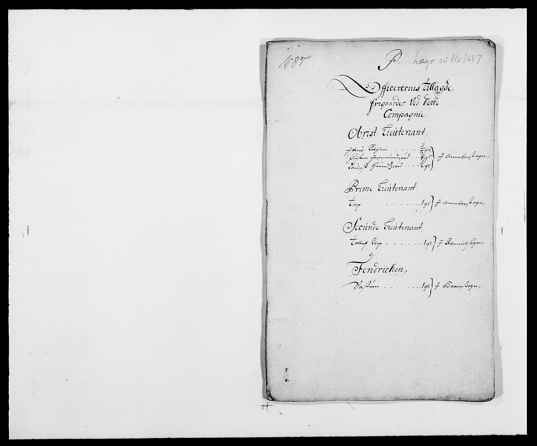 RA, Rentekammeret inntil 1814, Reviderte regnskaper, Fogderegnskap, R32/L1858: Fogderegnskap Jarlsberg grevskap, 1686-1690, s. 209