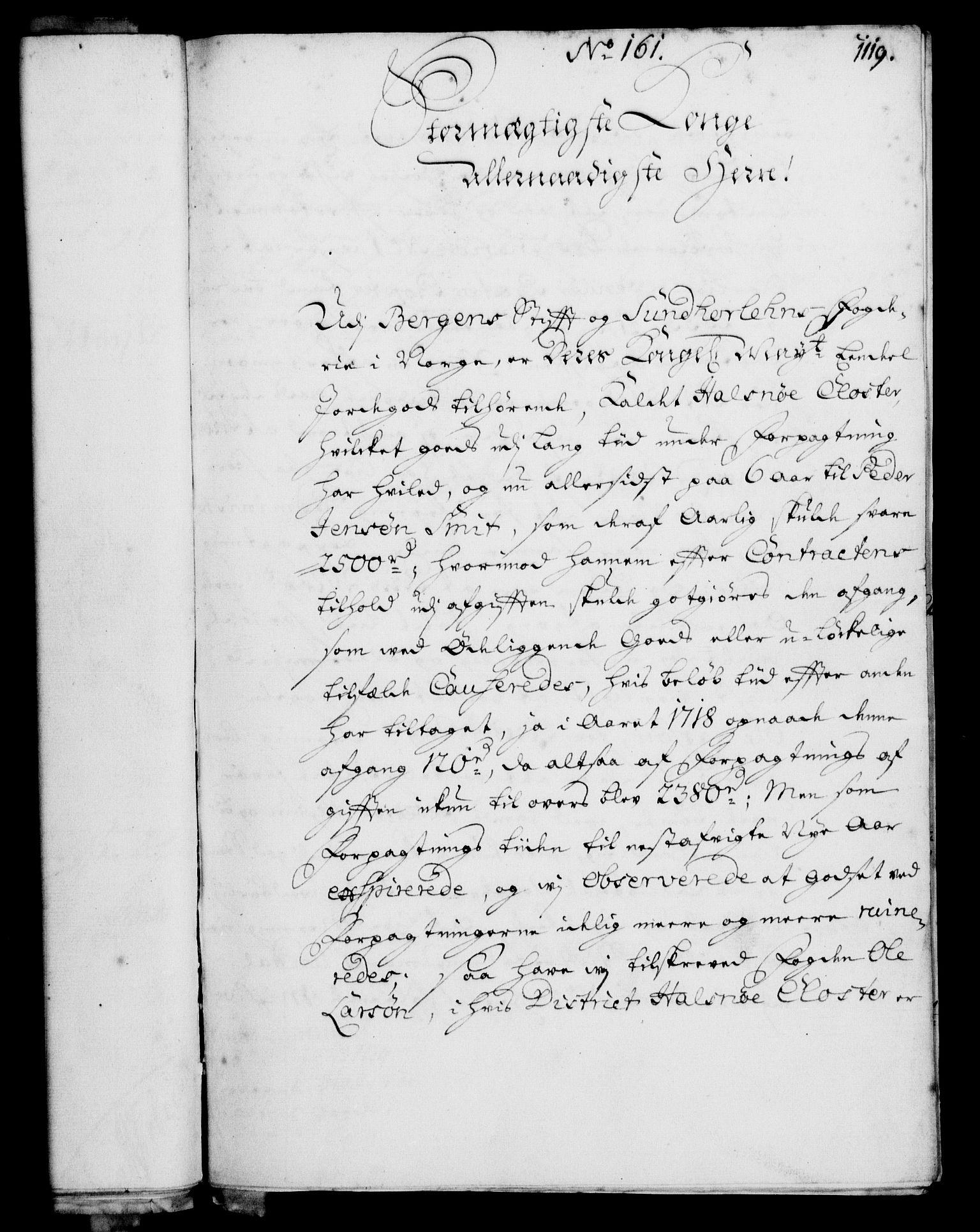 RA, Rentekammeret, Kammerkanselliet, G/Gf/Gfa/L0003: Norsk relasjons- og resolusjonsprotokoll (merket RK 52.3), 1720, s. 92
