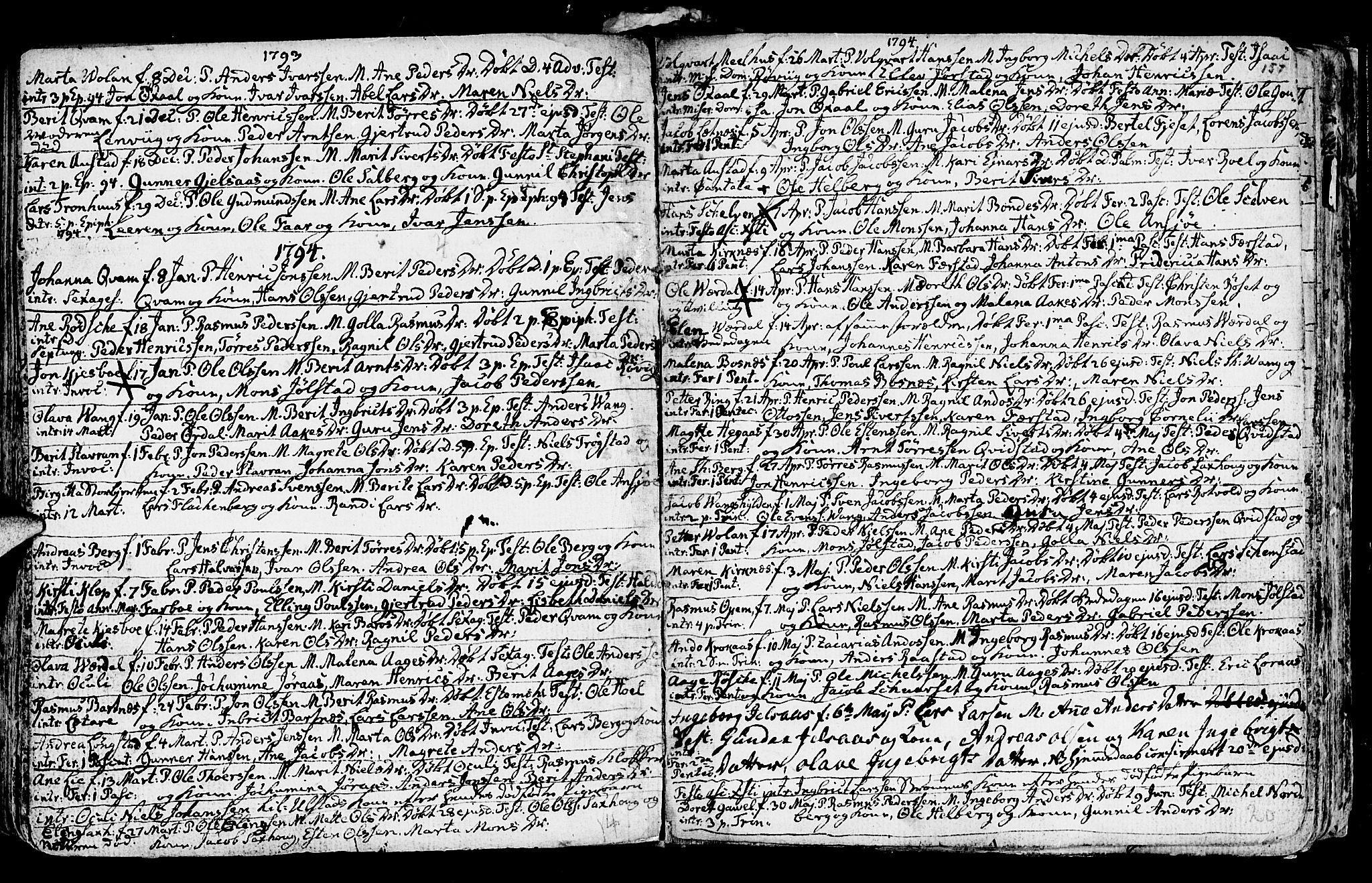 SAT, Ministerialprotokoller, klokkerbøker og fødselsregistre - Nord-Trøndelag, 730/L0273: Ministerialbok nr. 730A02, 1762-1802, s. 157