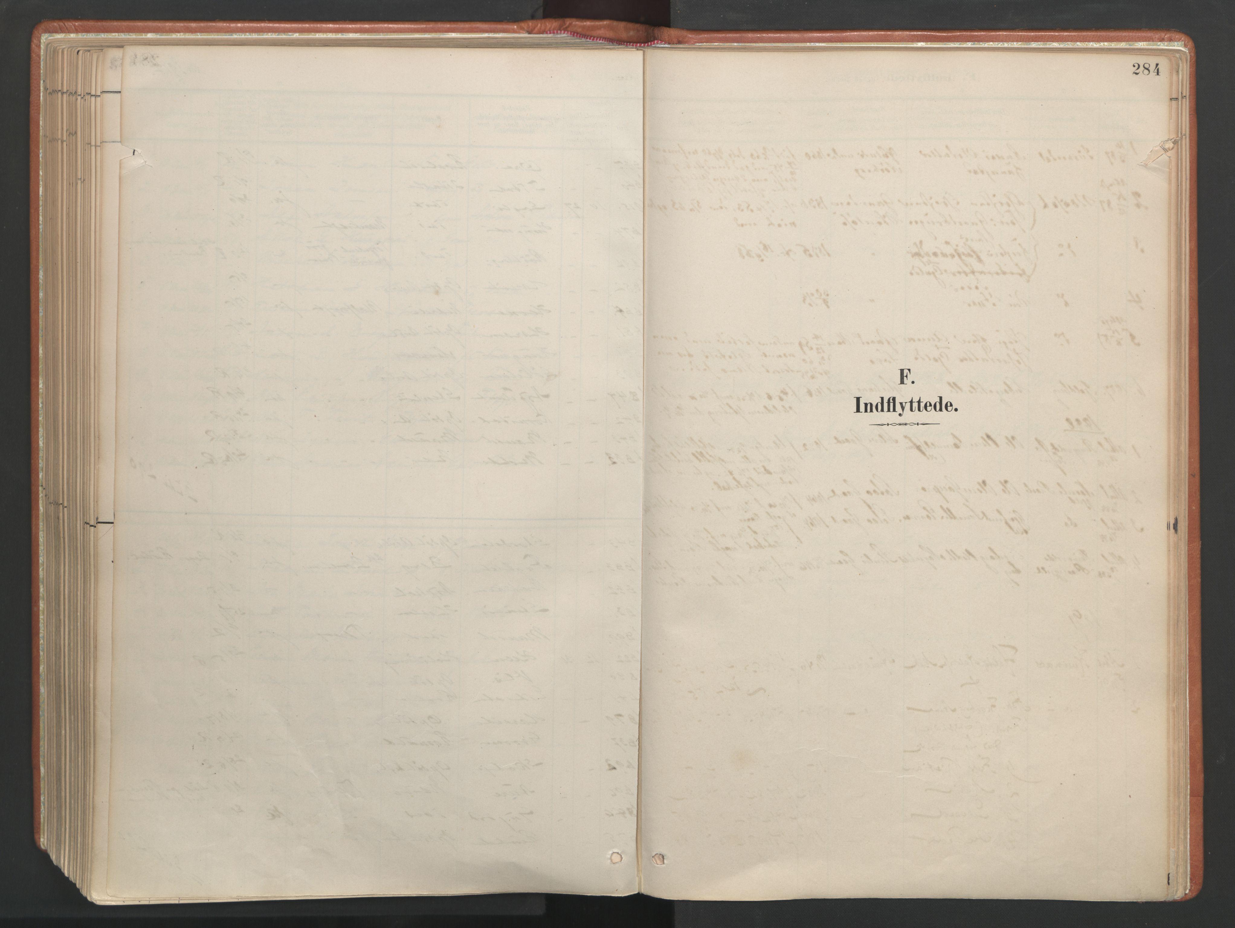 SAT, Ministerialprotokoller, klokkerbøker og fødselsregistre - Møre og Romsdal, 557/L0682: Ministerialbok nr. 557A04, 1887-1970, s. 284