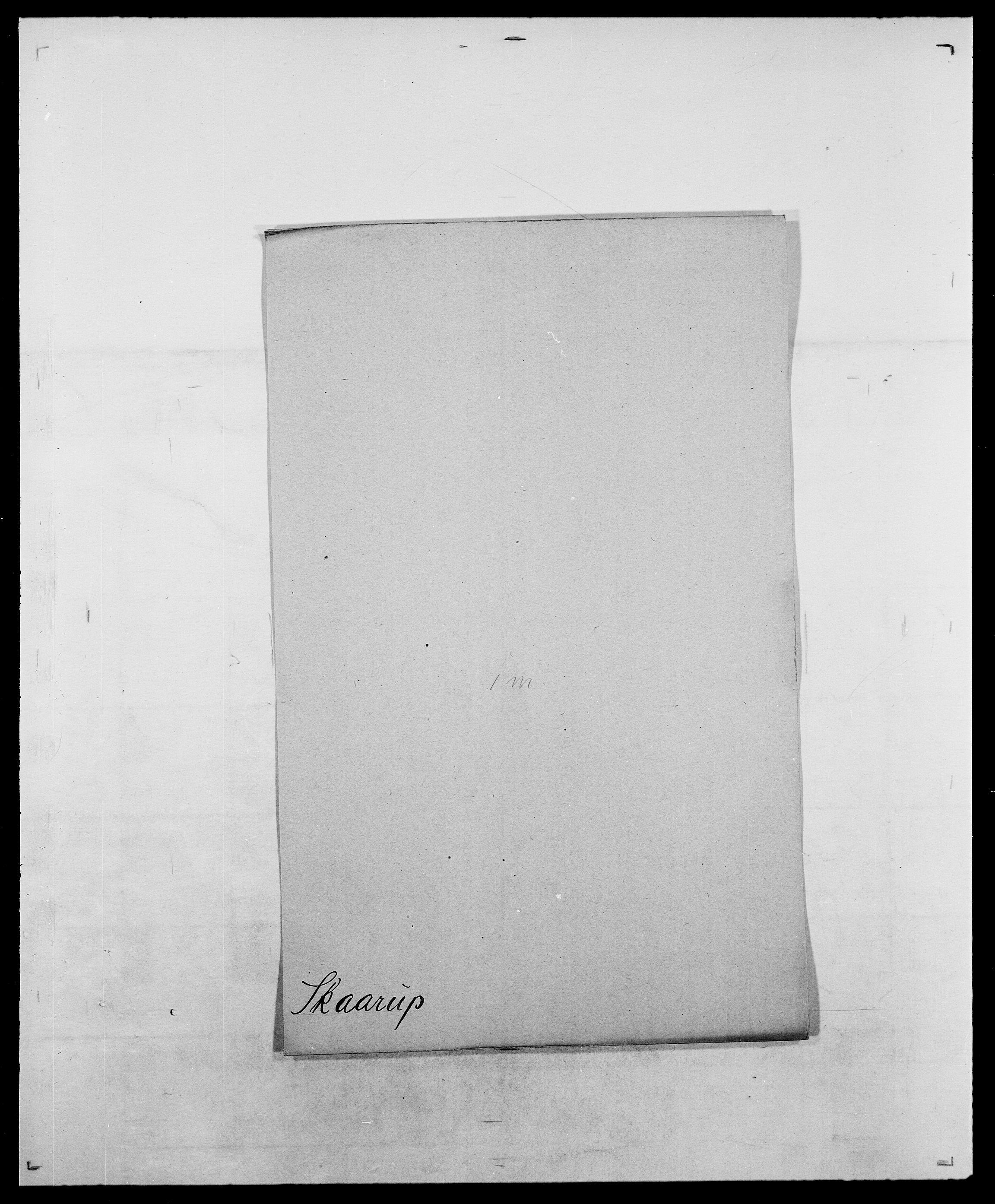 SAO, Delgobe, Charles Antoine - samling, D/Da/L0036: Skaanør - Staverskov, s. 11
