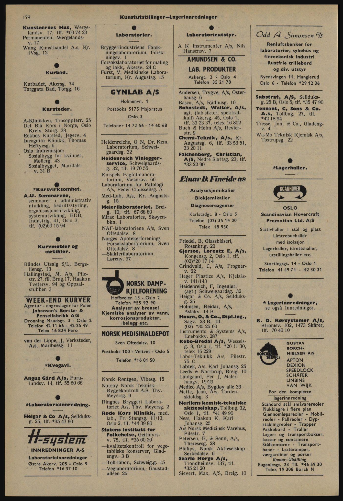 PUBL, Kristiania/Oslo adressebok, 1978-1979, s. 178